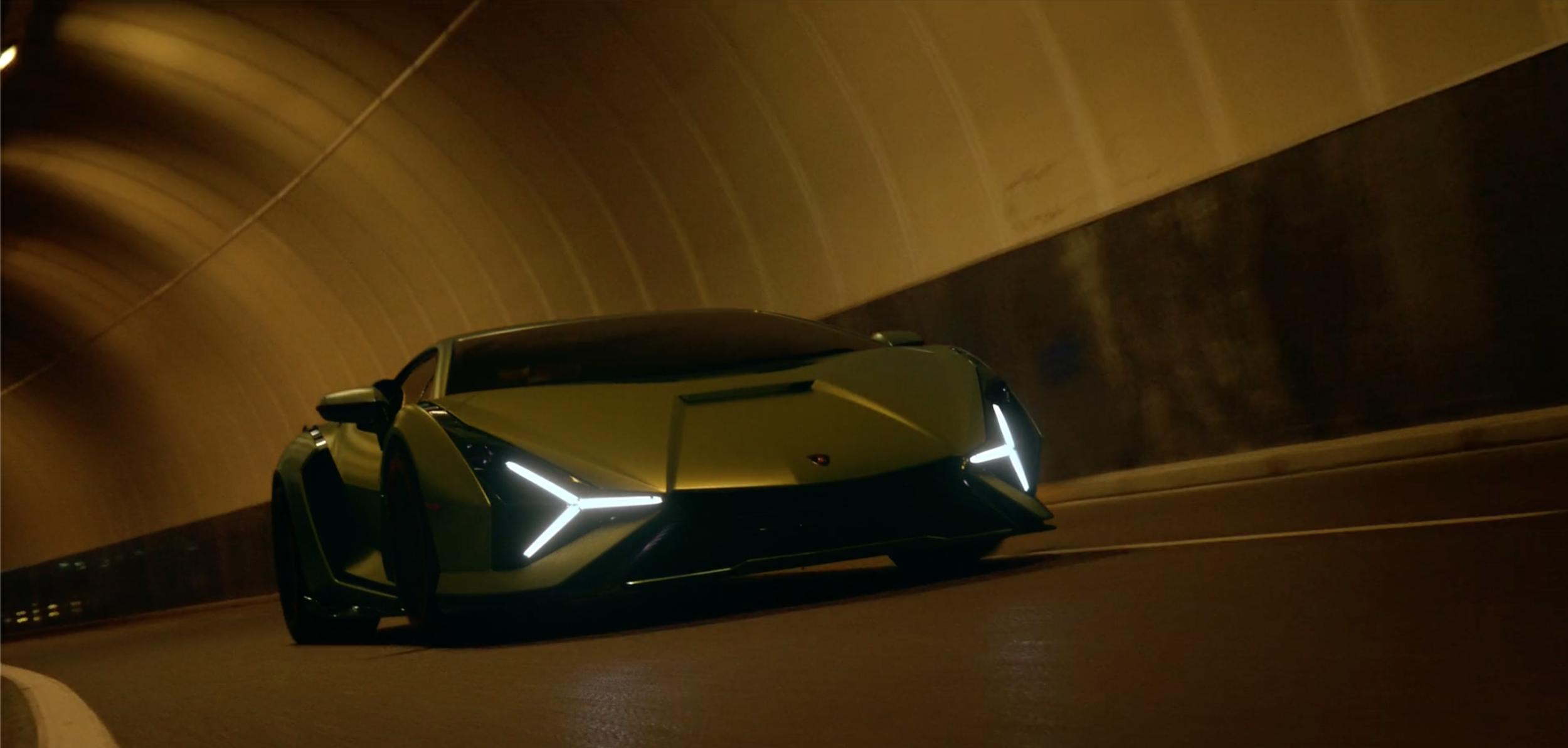 Lamborghini / Director Alberto Colombo - Creative Researcher Andrea Jade Colomb