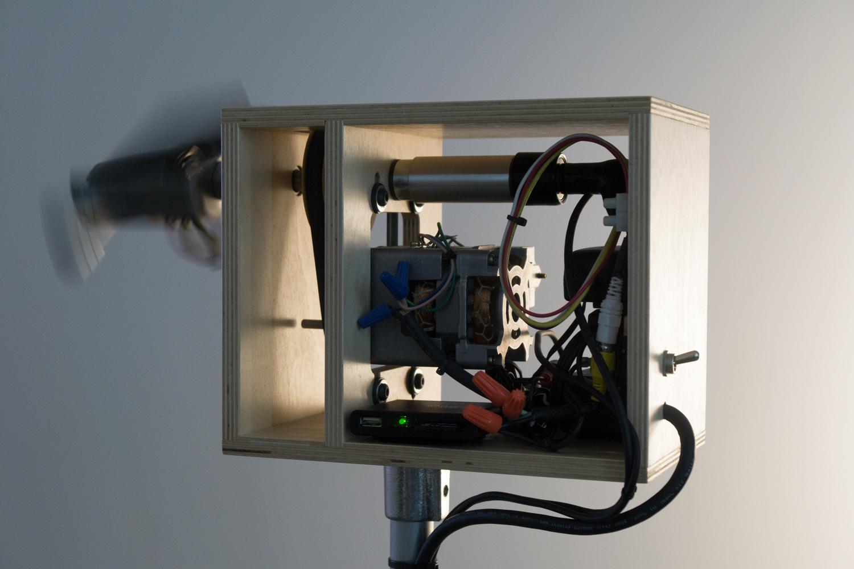 Siren, detail of mechanism