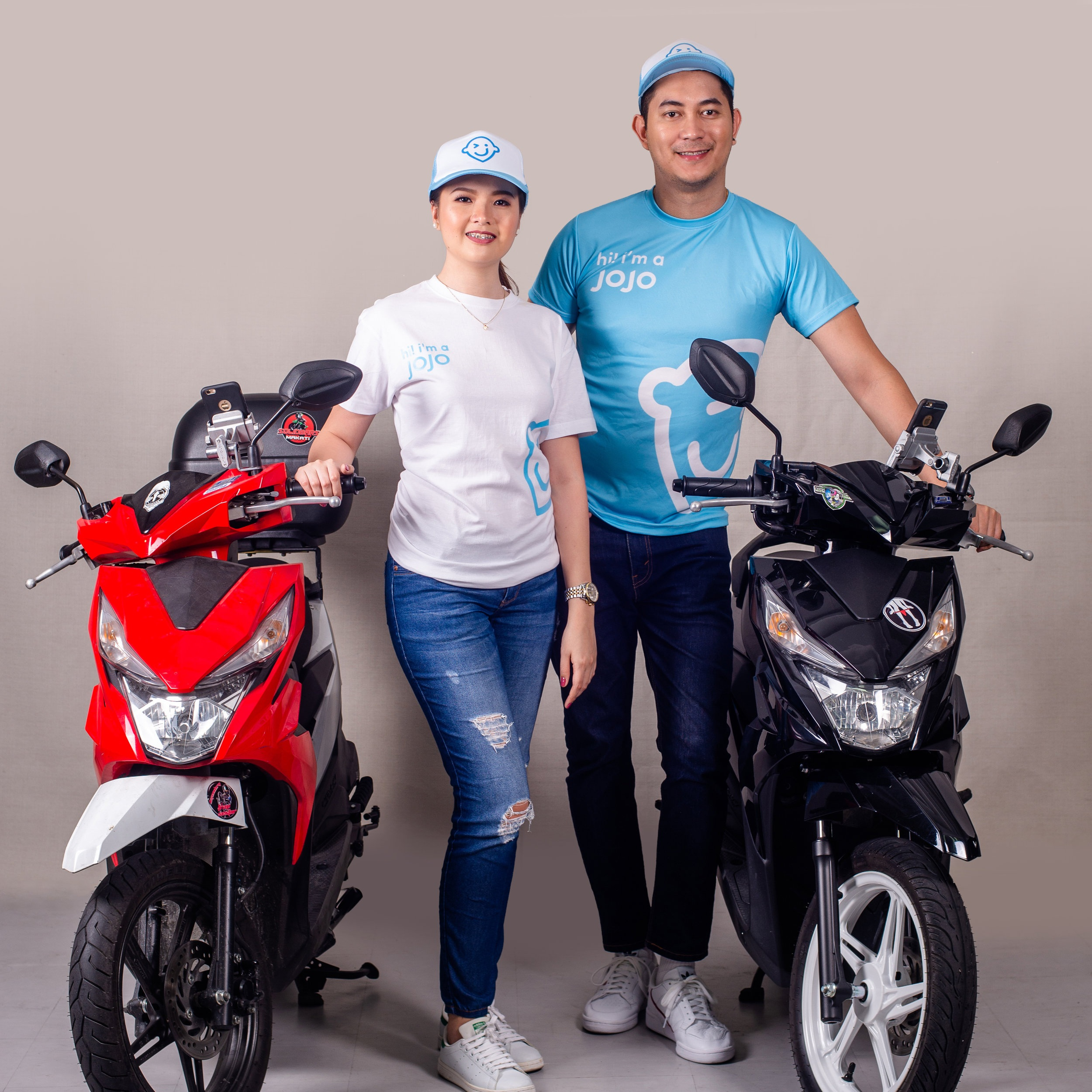 Motorcycle rider - Faster mode of transport, perfect for small or medium-sized packages