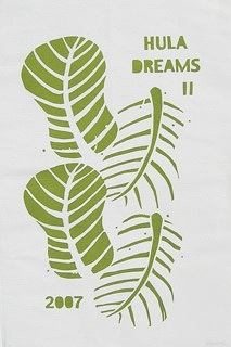 """Releaf"" tea towel 2007"