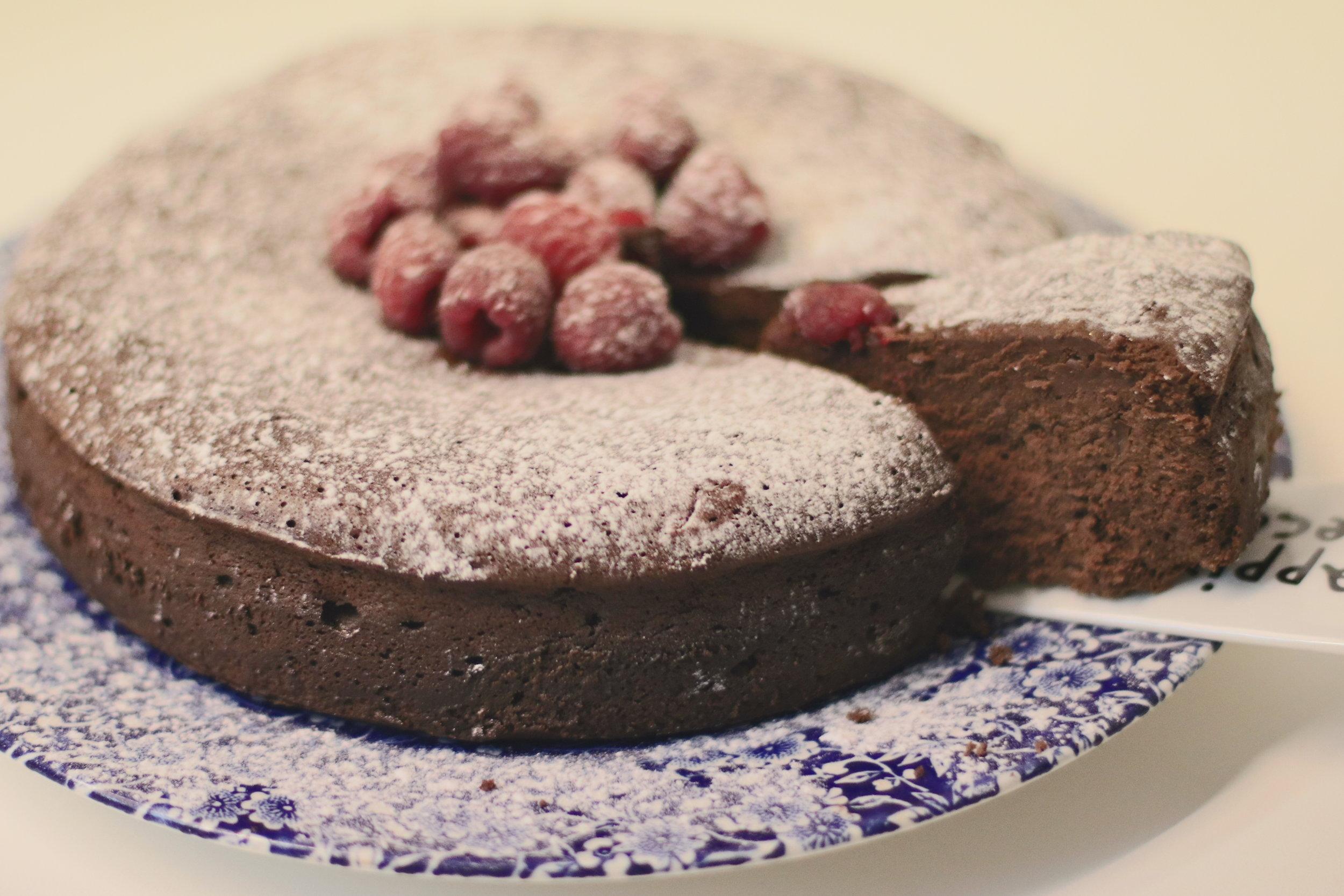 GF Chocolate Indulgence Cake