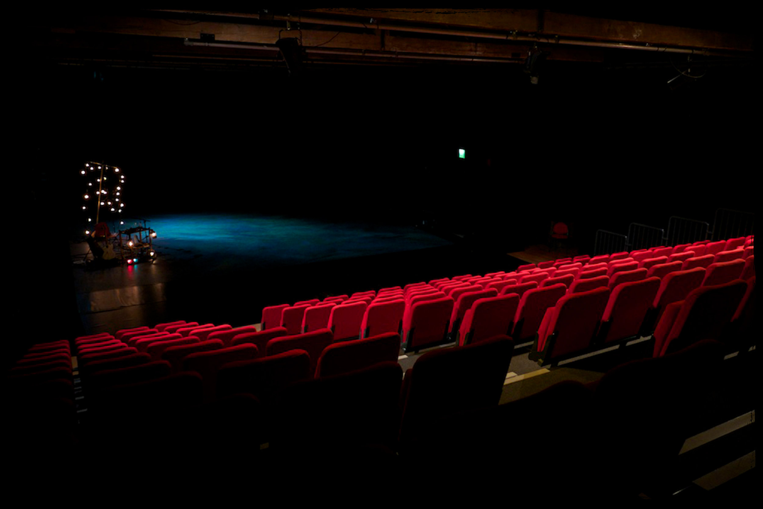Photo of The Old Market in standard theatre seating layout.