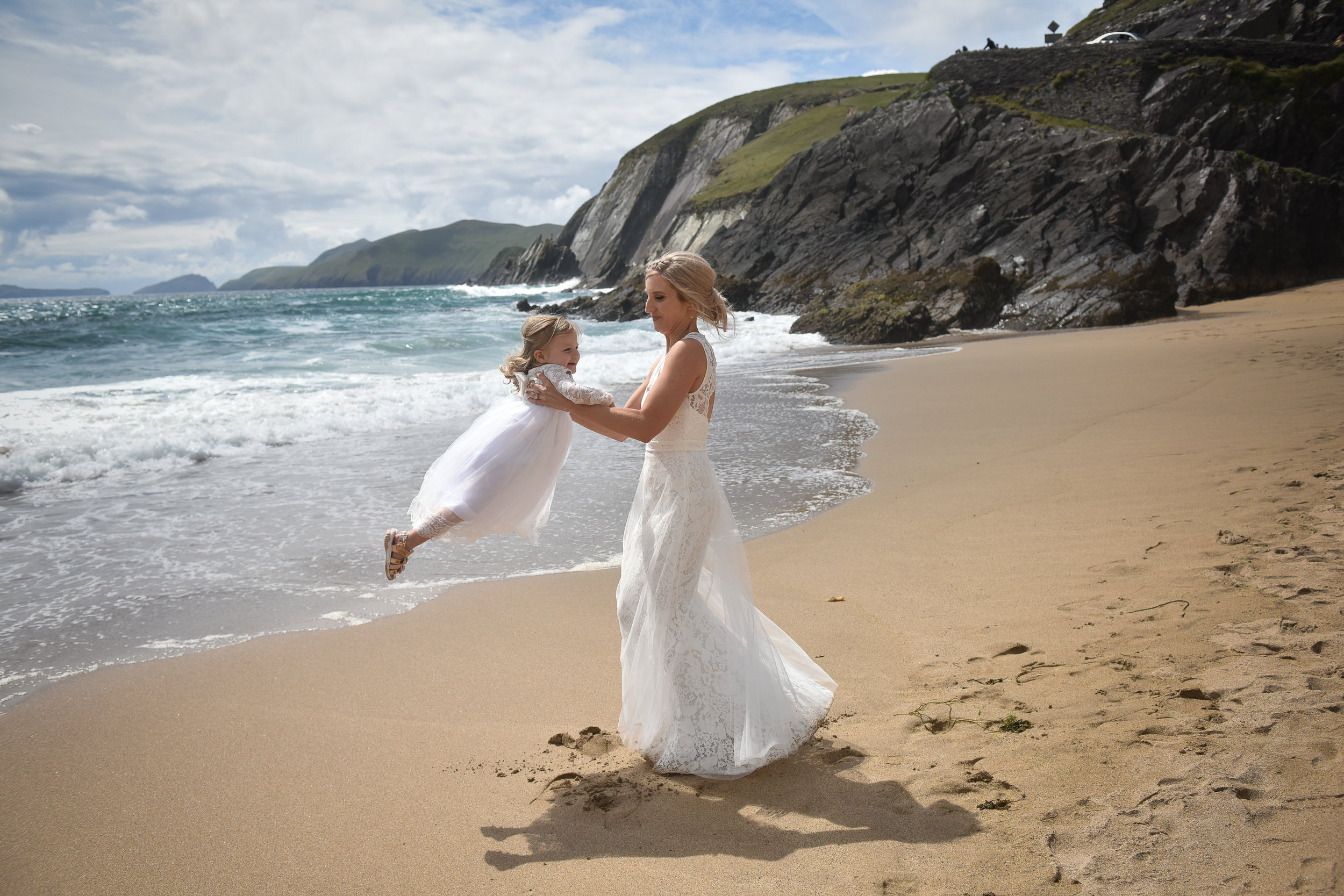 wedding coumenole beach dingle co kerry elaine kennedy wedding photography.jpg