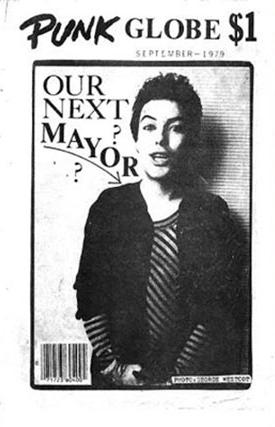 September 1979 issue of Punk Globe magazine