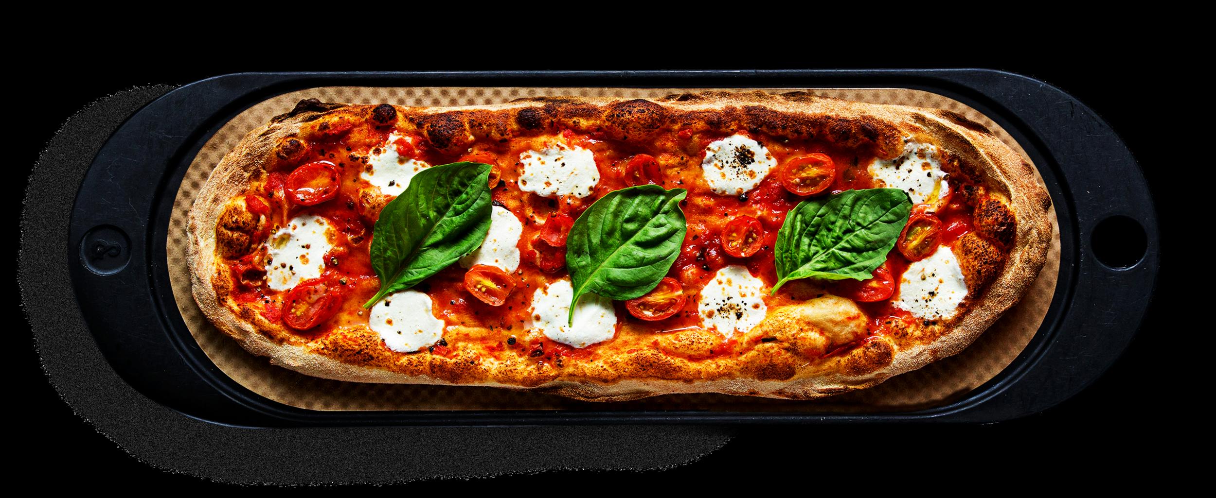 THE OG - Classic tomato, fresh mozzarella, grape tomatoes, basil, olive oil, salt + pepper