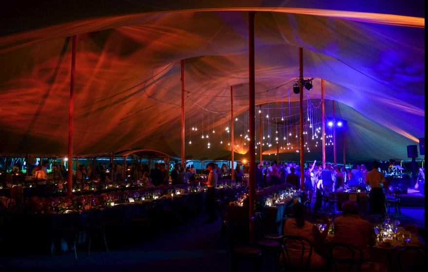 Lights in Tent