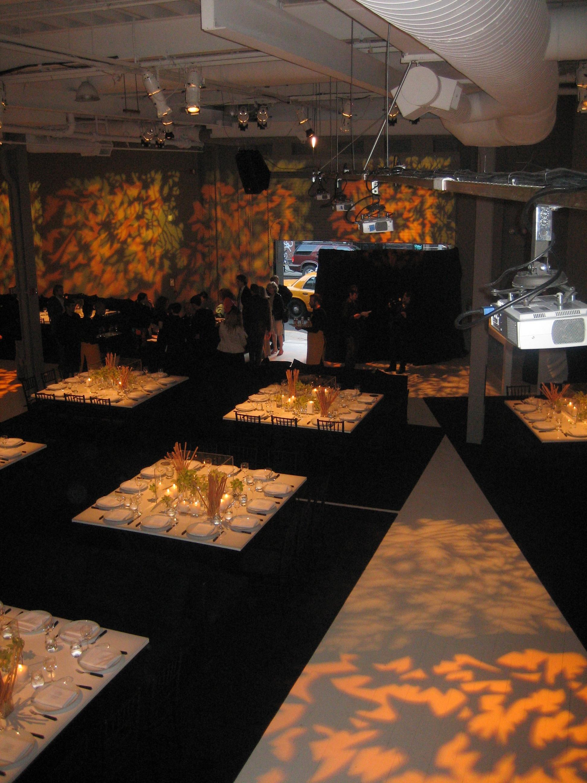 Lighting Display for Event
