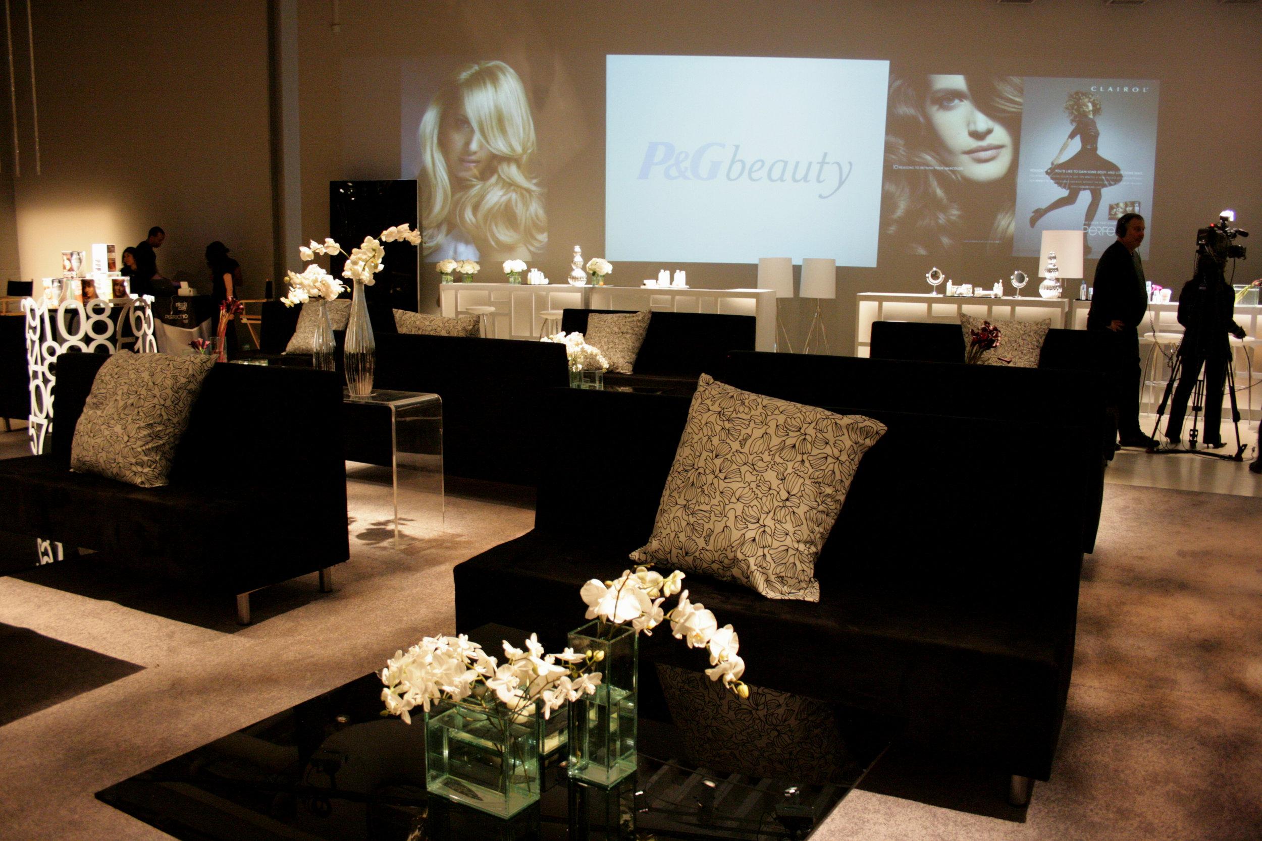 Beauty Event Decor