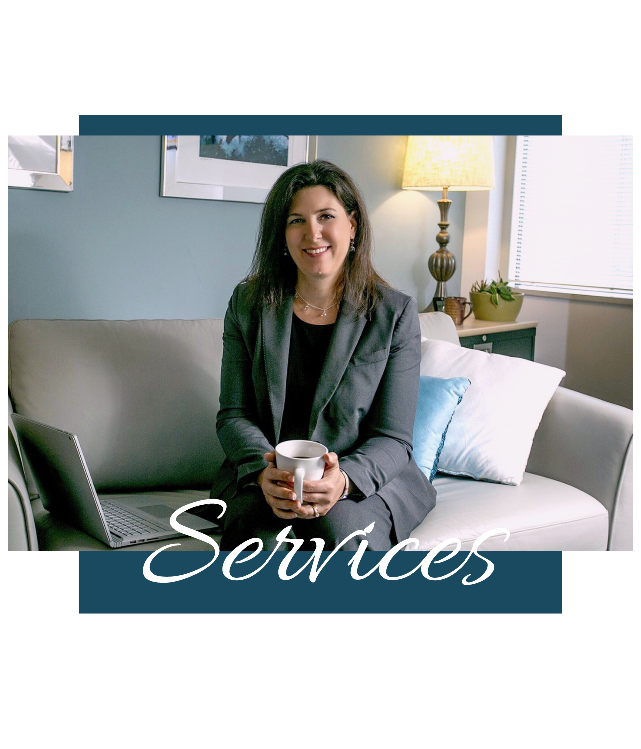 Therapy Services - While most of Angela's practice consists of individual counseling for adults (age 17+), she also provides family counseling and couples counseling on a limited basis.