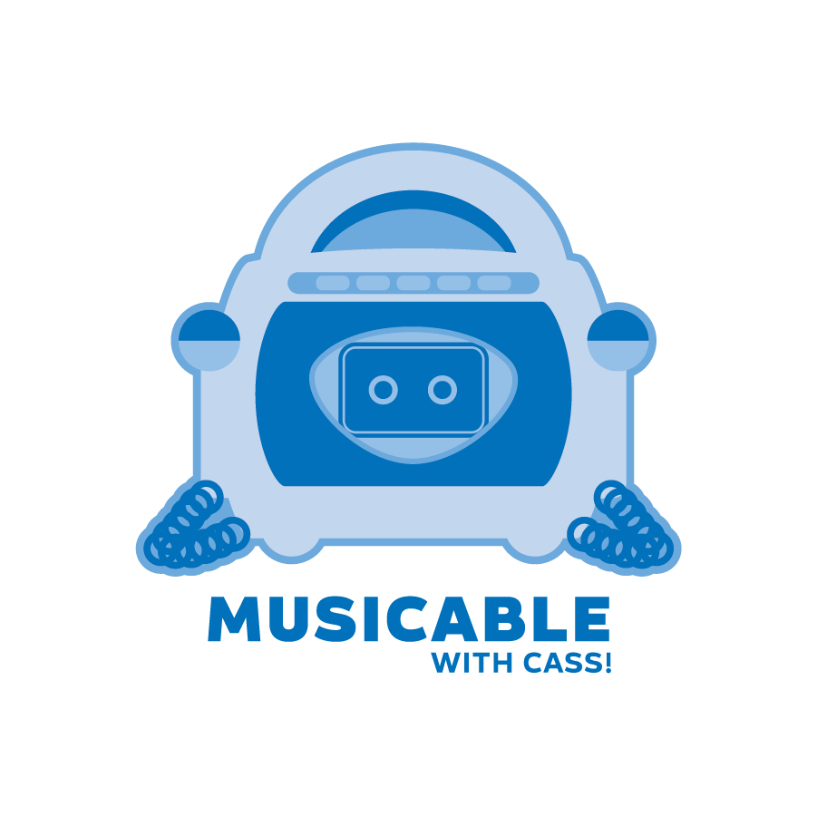 Musicable with Cass podcast (Logo 2)