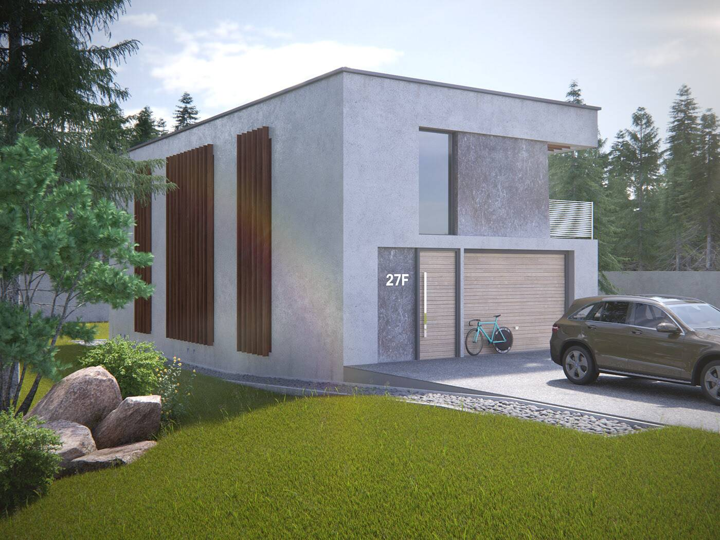 Photorealistic House Render For Architecture And Interior Design 3d Infographics 360º Rendering Render Interiores