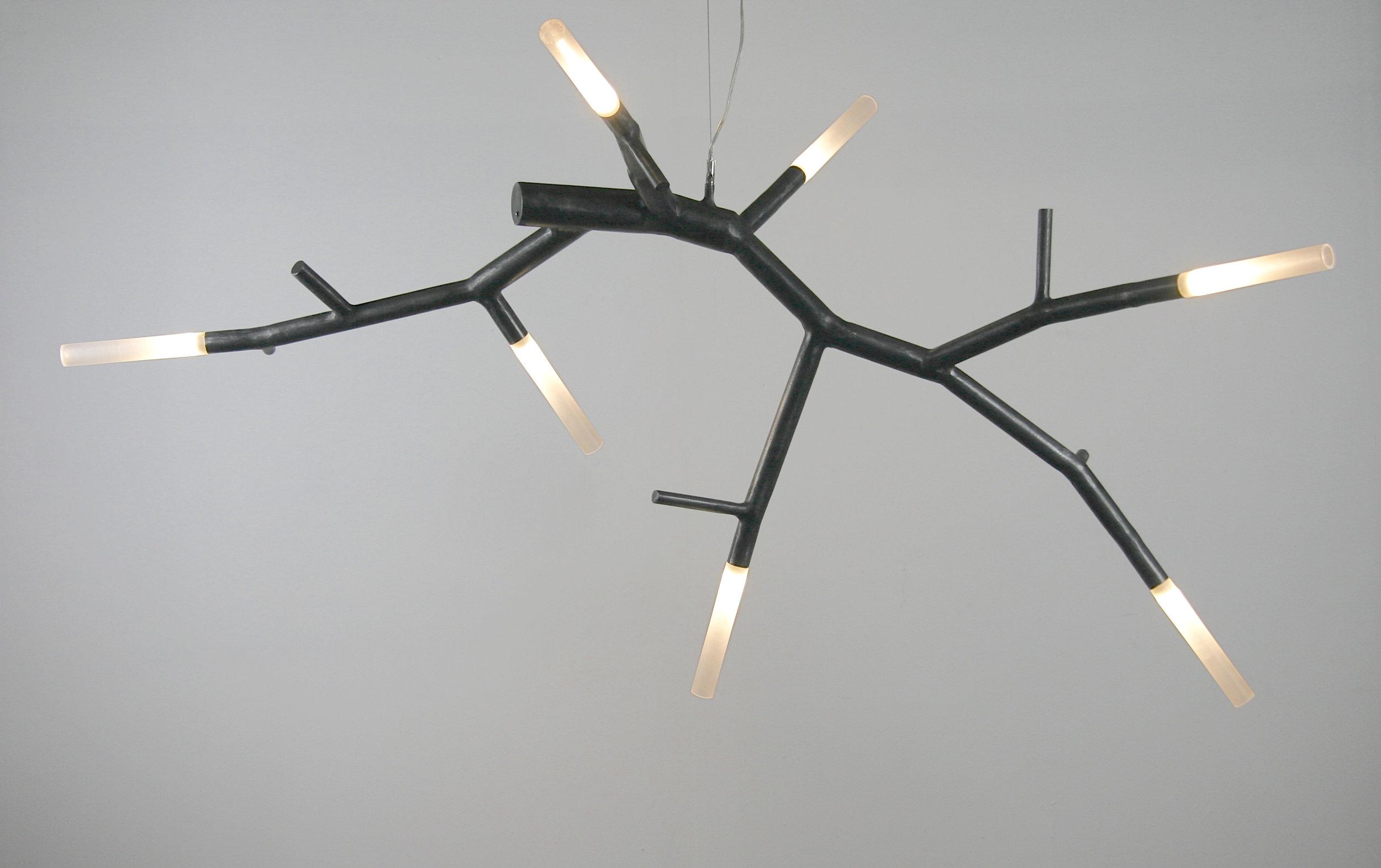 newGROWTH2 floating LED chandelier