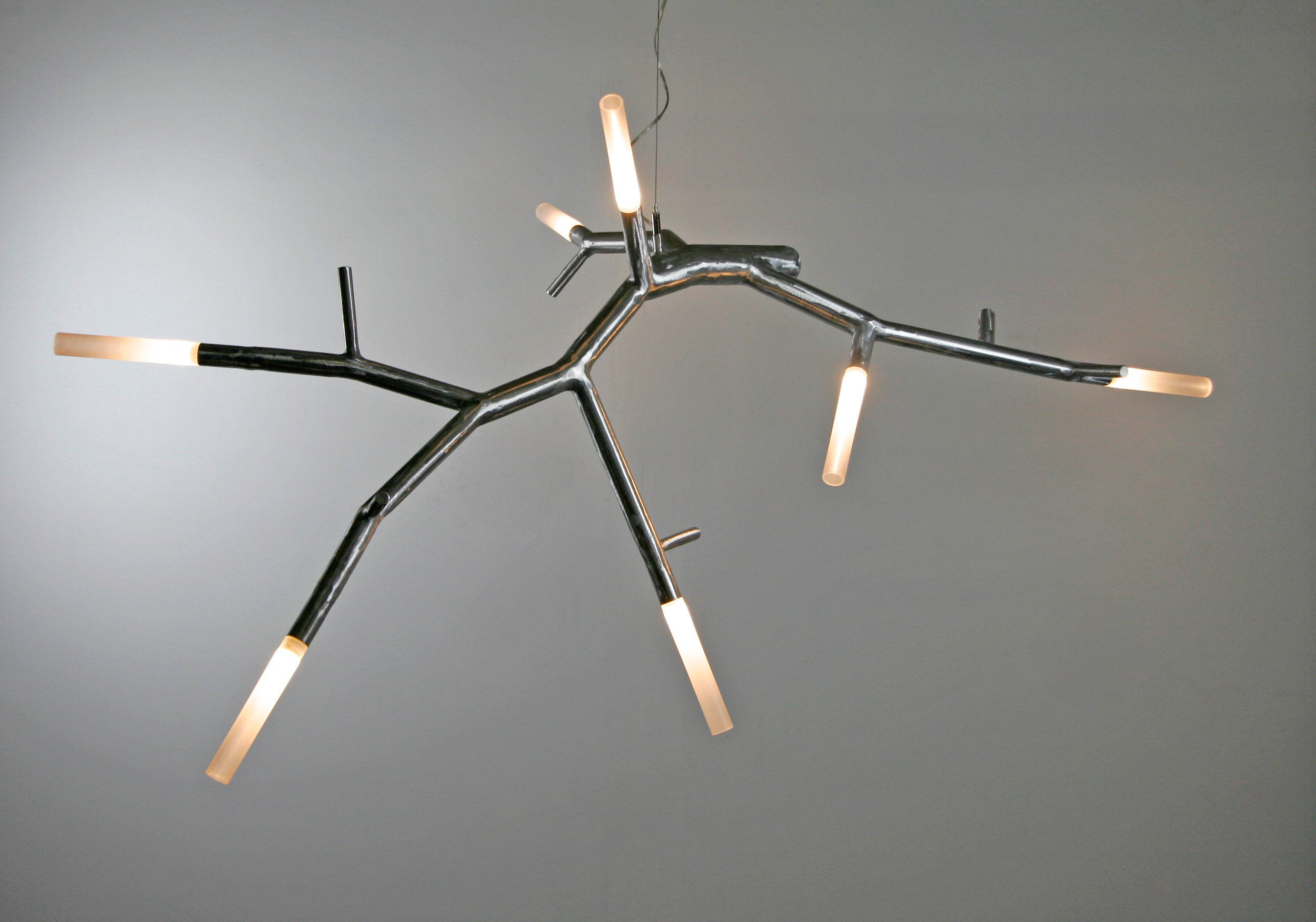 newGROWTH2 LED floating chandelier