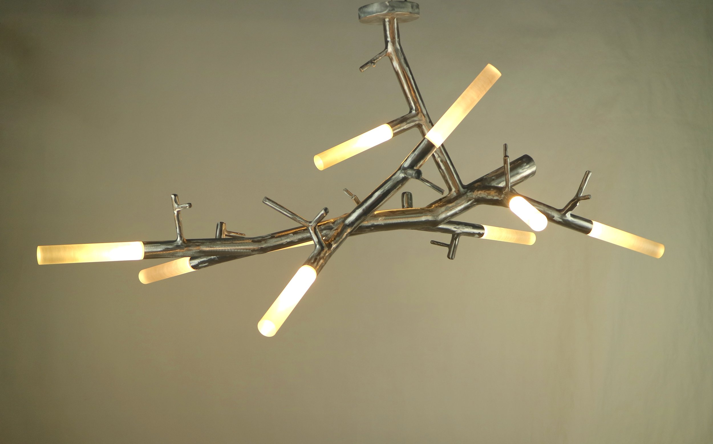 newGROWTH2 Cantilevered Chandelier