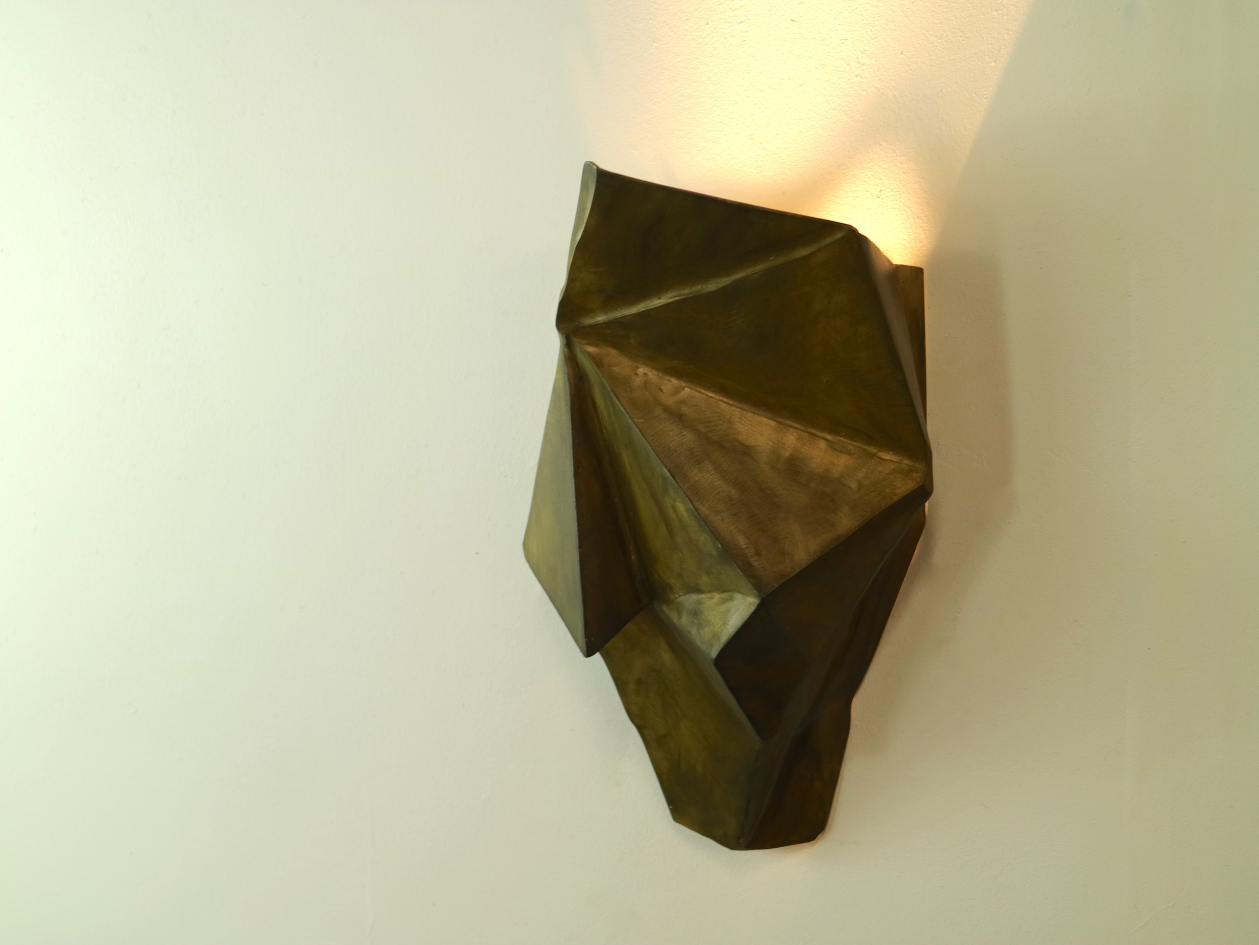 ScrapPile Sconce