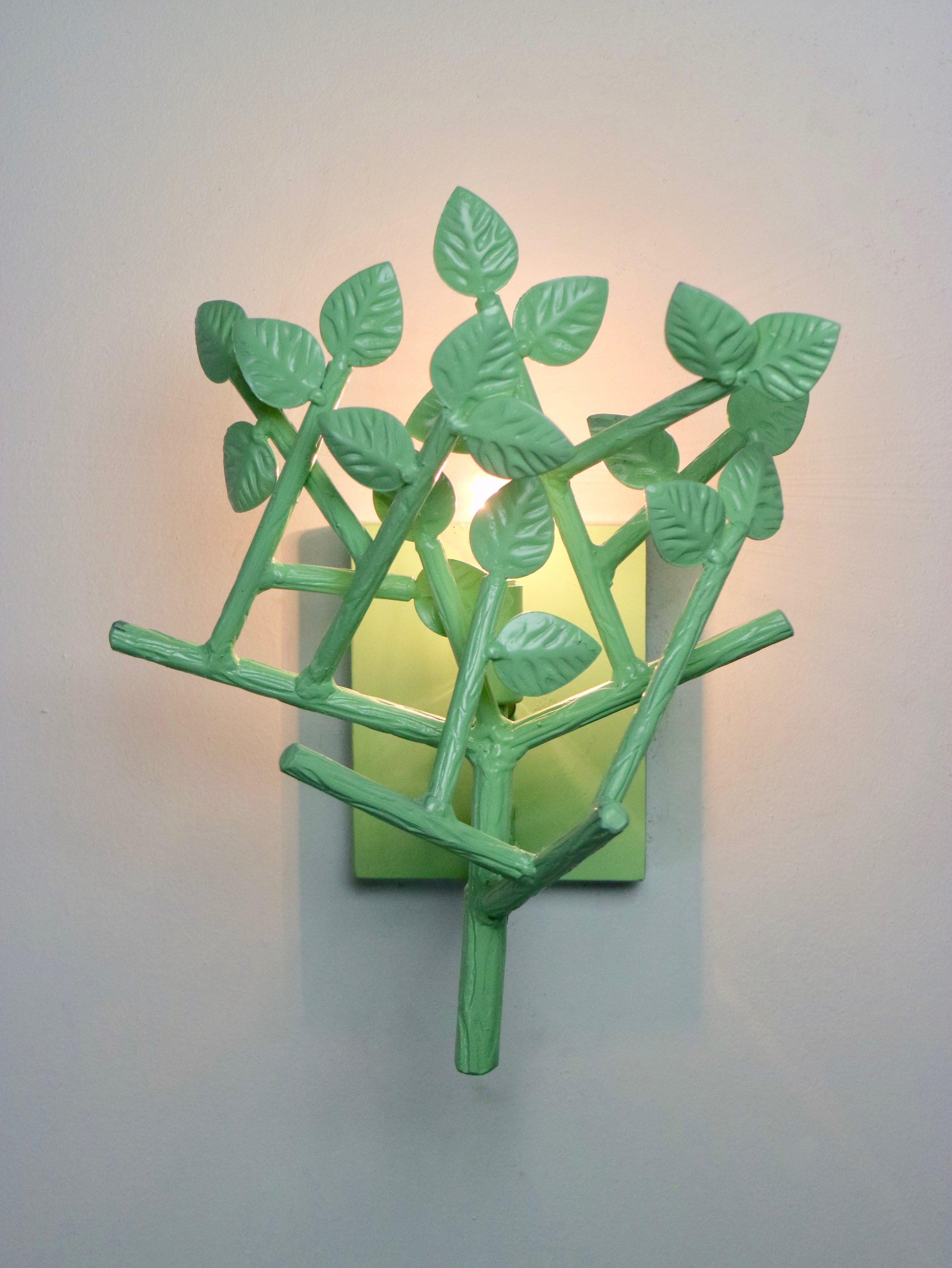 Twiggy Sconce green
