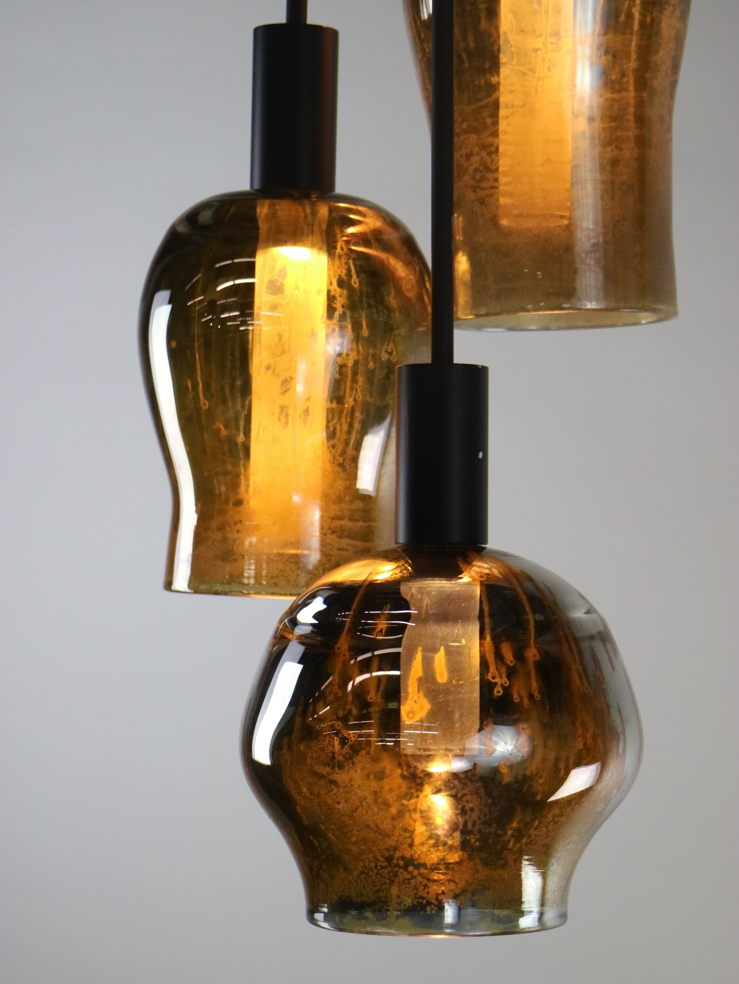 Antiqued Silver LiquorLamp group