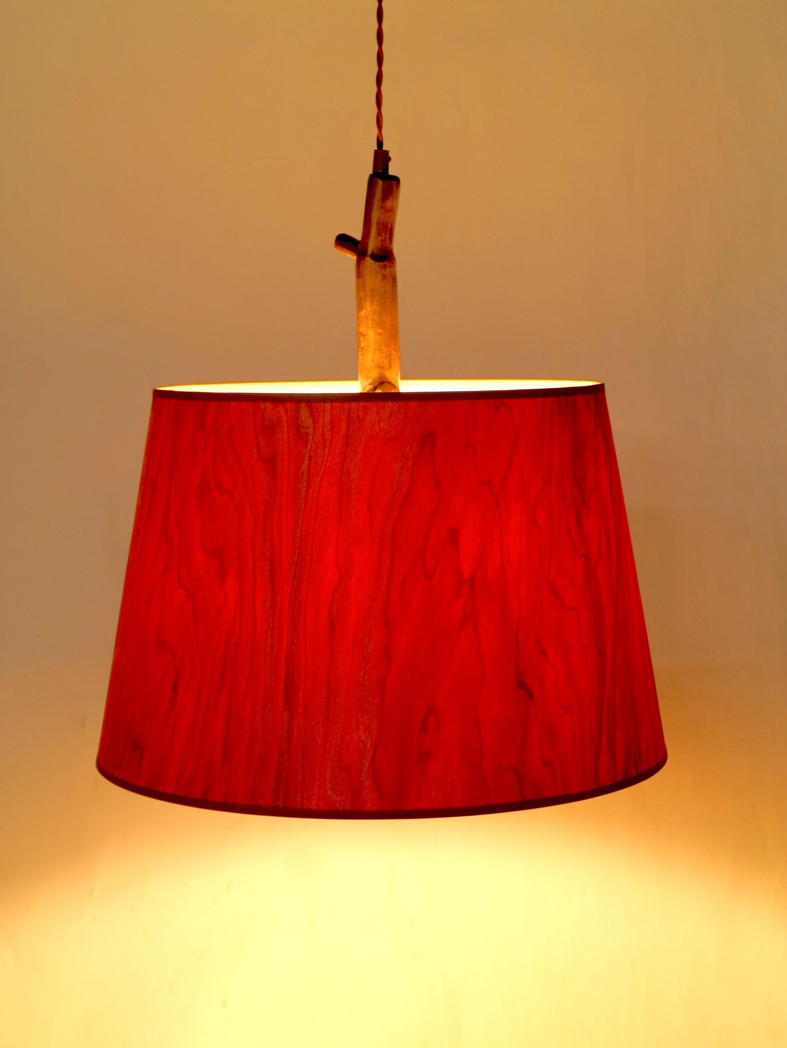 WoodShade Pendant - cherry
