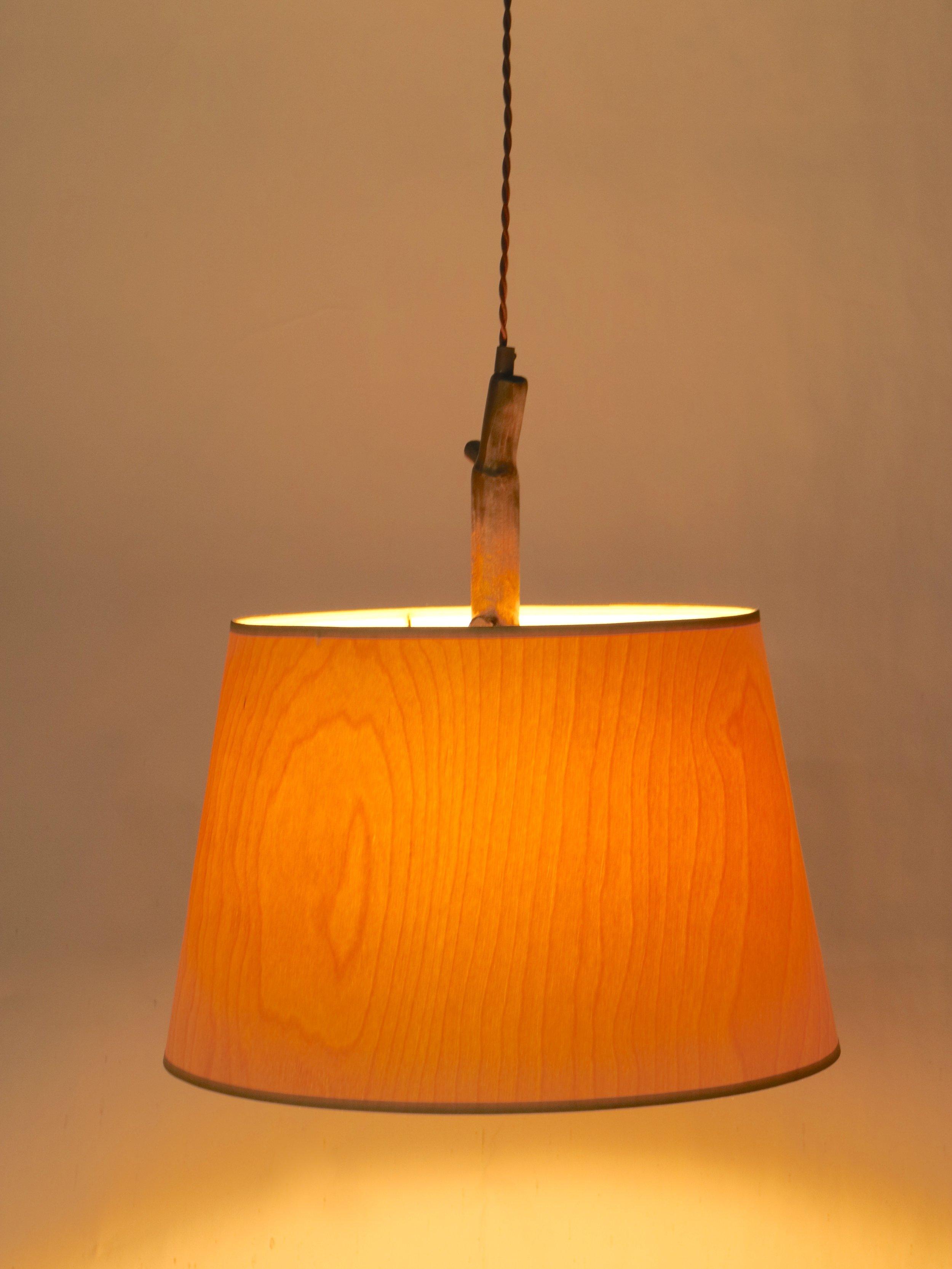 WoodShade Pendant - maple