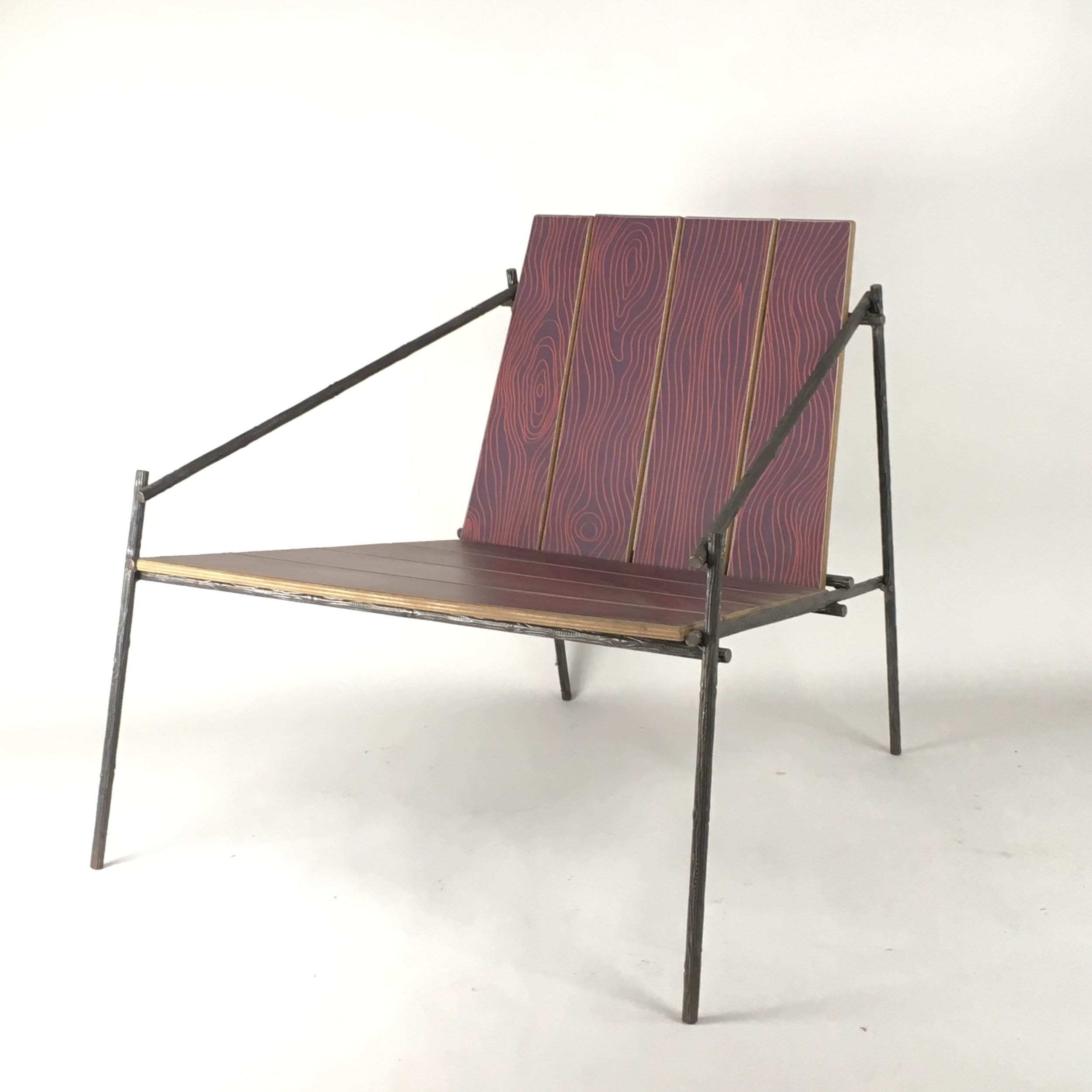 Modern Rustic Lounge Chair