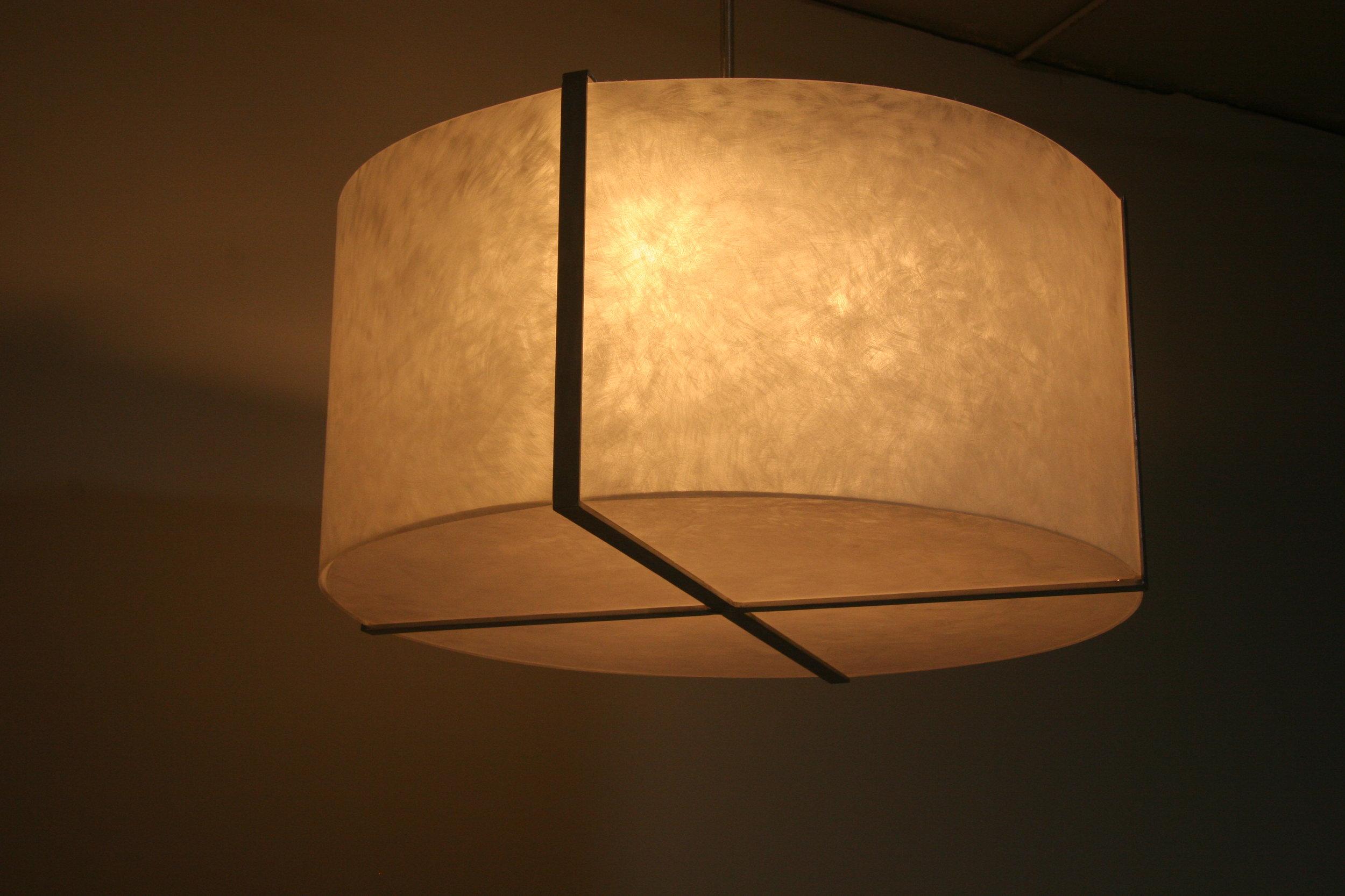 """36"""" diameter custom ceiling light"""