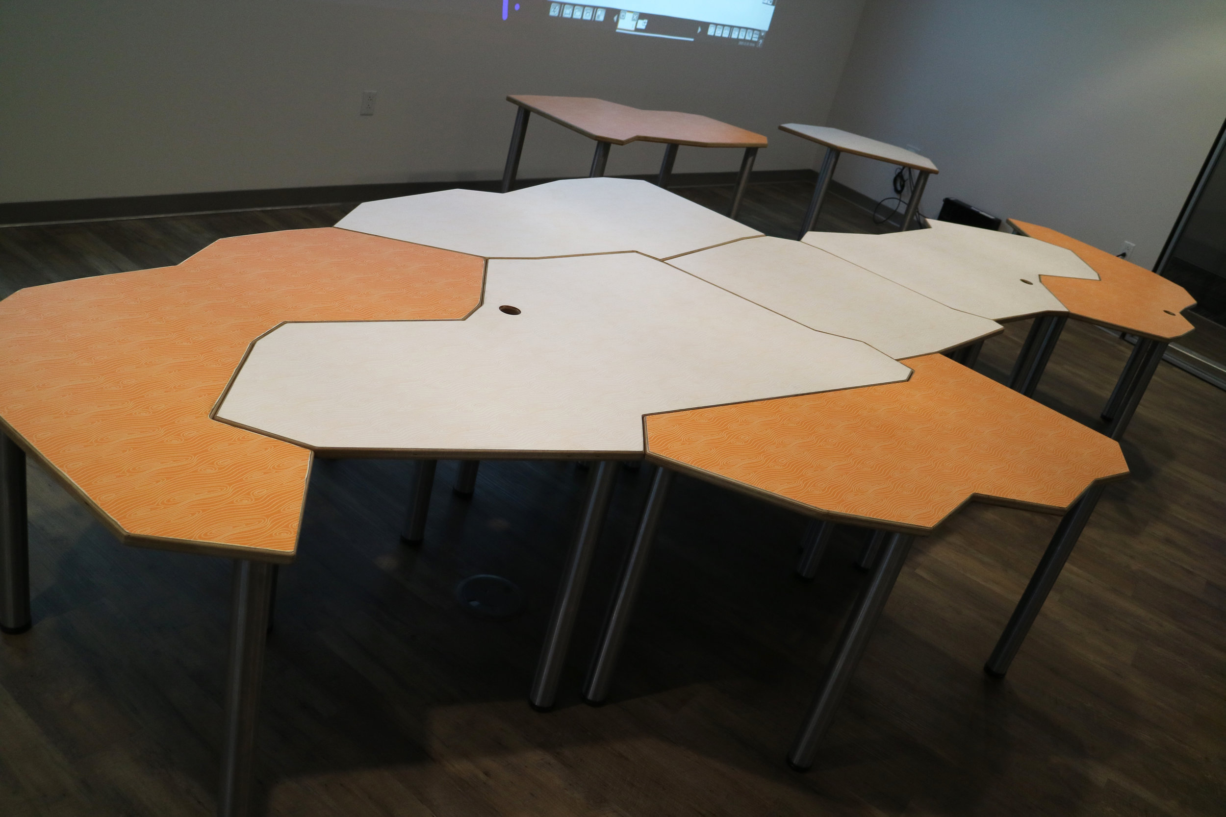 Tesselation Table — 7 table configuration
