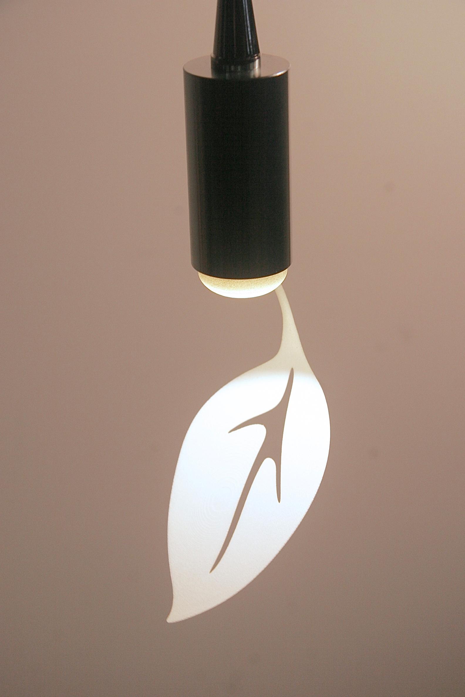 CP3d Single Leaf Pendant