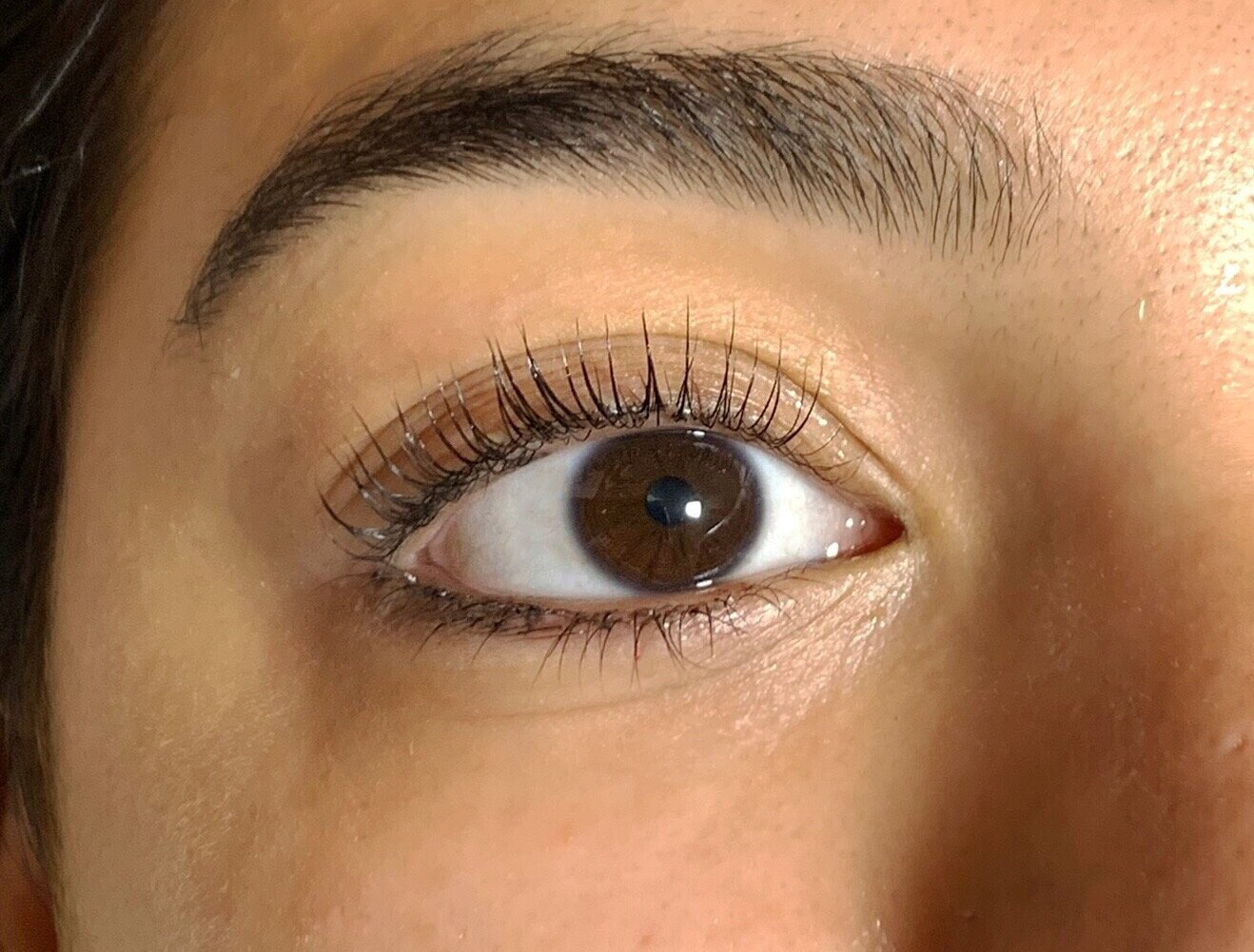 A lash lift is like a perm (but without chemicals like parabens or formaldehyde), for your natural eyelashes. It uplifts and curls them from the base of the lash, making them stand out and look longer. You can expect longer, darker looking lashes with a beautiful curl that lasts 6-8 weeks.  A lash tint procedure in which eyelashes are dyed from root to tip, giving them a darker, fuller, more dramatic appearance.