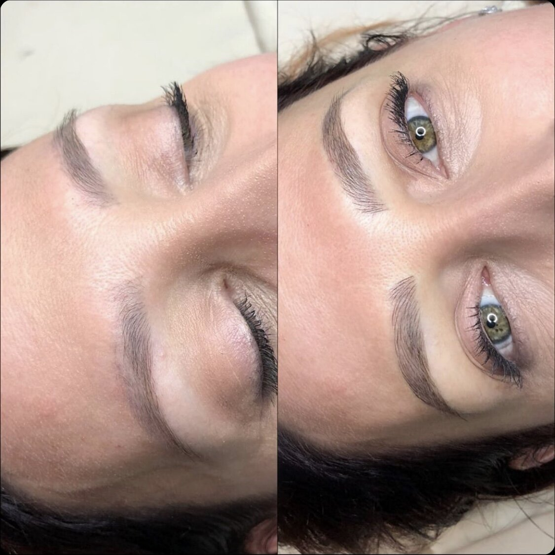 Microblading (Previous Tattoo Cover Up)