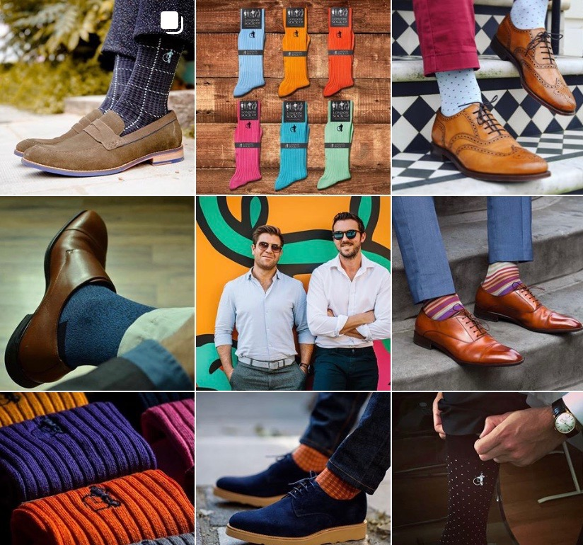 London sock company - The London Sock Company was founded in 2013 by Ryan Palmer and Dave Pickard who believe that putting on a great pair of socks in the morning has the power to transform not just your style, but also your state of mind. The LSC offer sophisticated socks designed to help the modern gentleman put his best foot forward, whether in the office or off-duty.