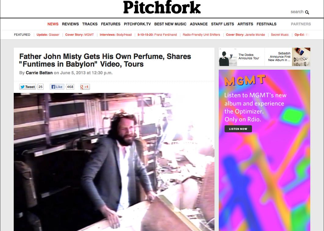 """Pitchfork, """"Innocence"""" by Misty"""