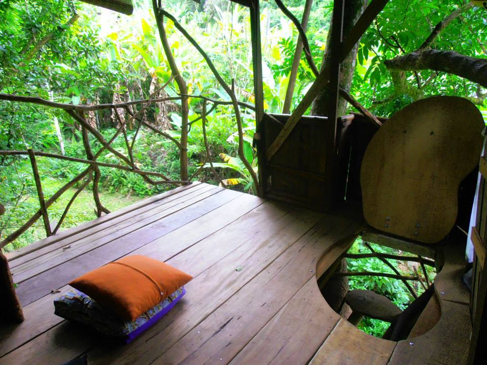 tree house eco sustainable permaculture eco village tiny