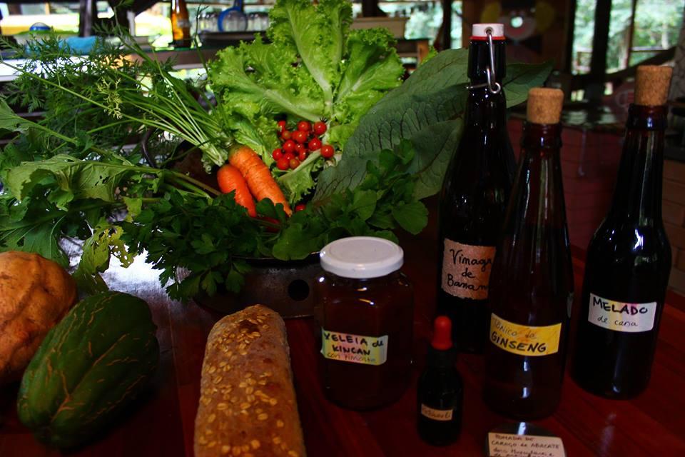 sustainable organic food products gardening vegetarian