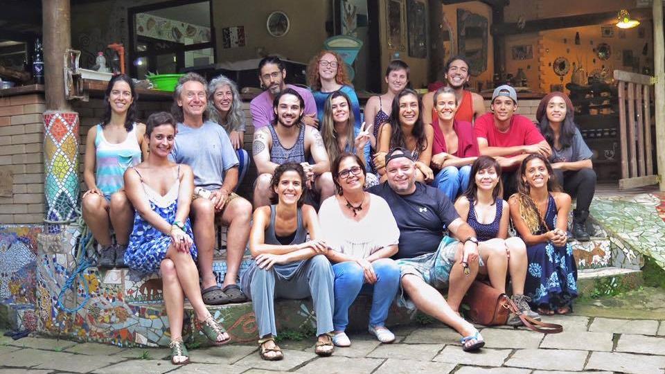 Eco Village Volunteers Permaculture Tourism Brazil