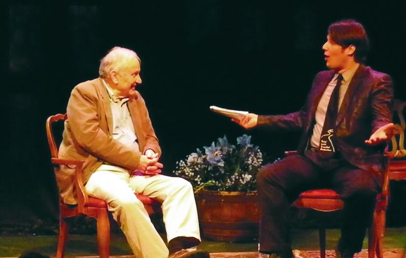 2012: Playwright A.R. Gurney