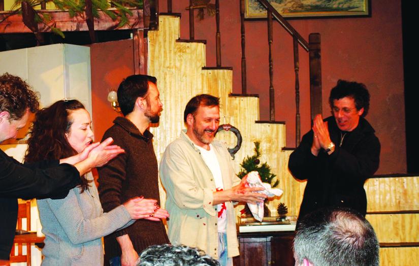 2008: Playwright/Actor Eric Bogosian