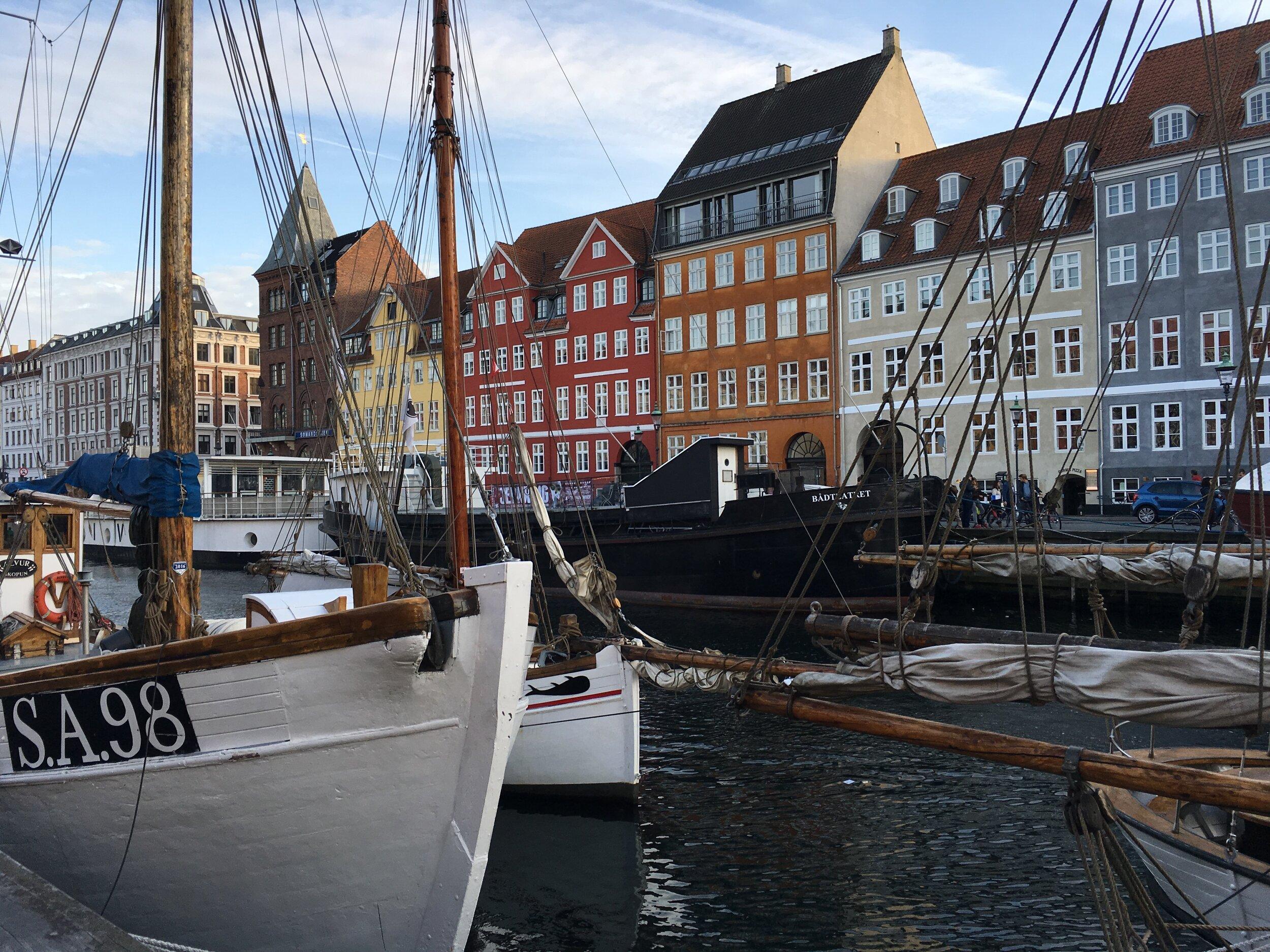 Copenhagen, which is 3 hours from Arhus