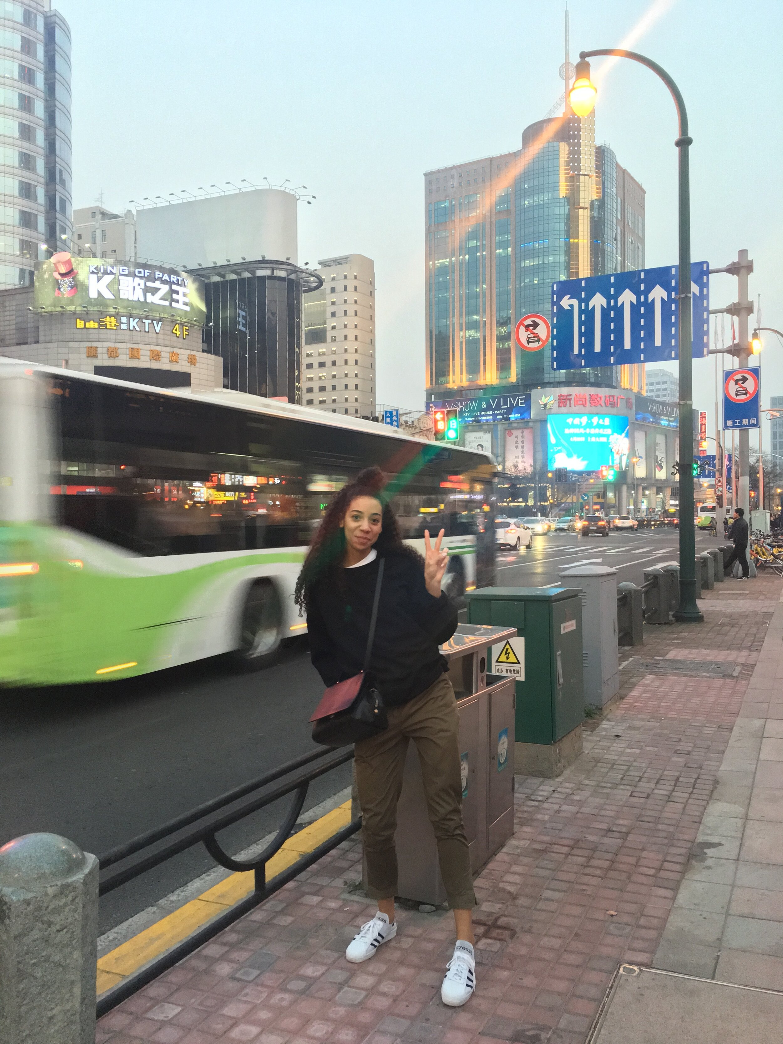First time in Shanghai