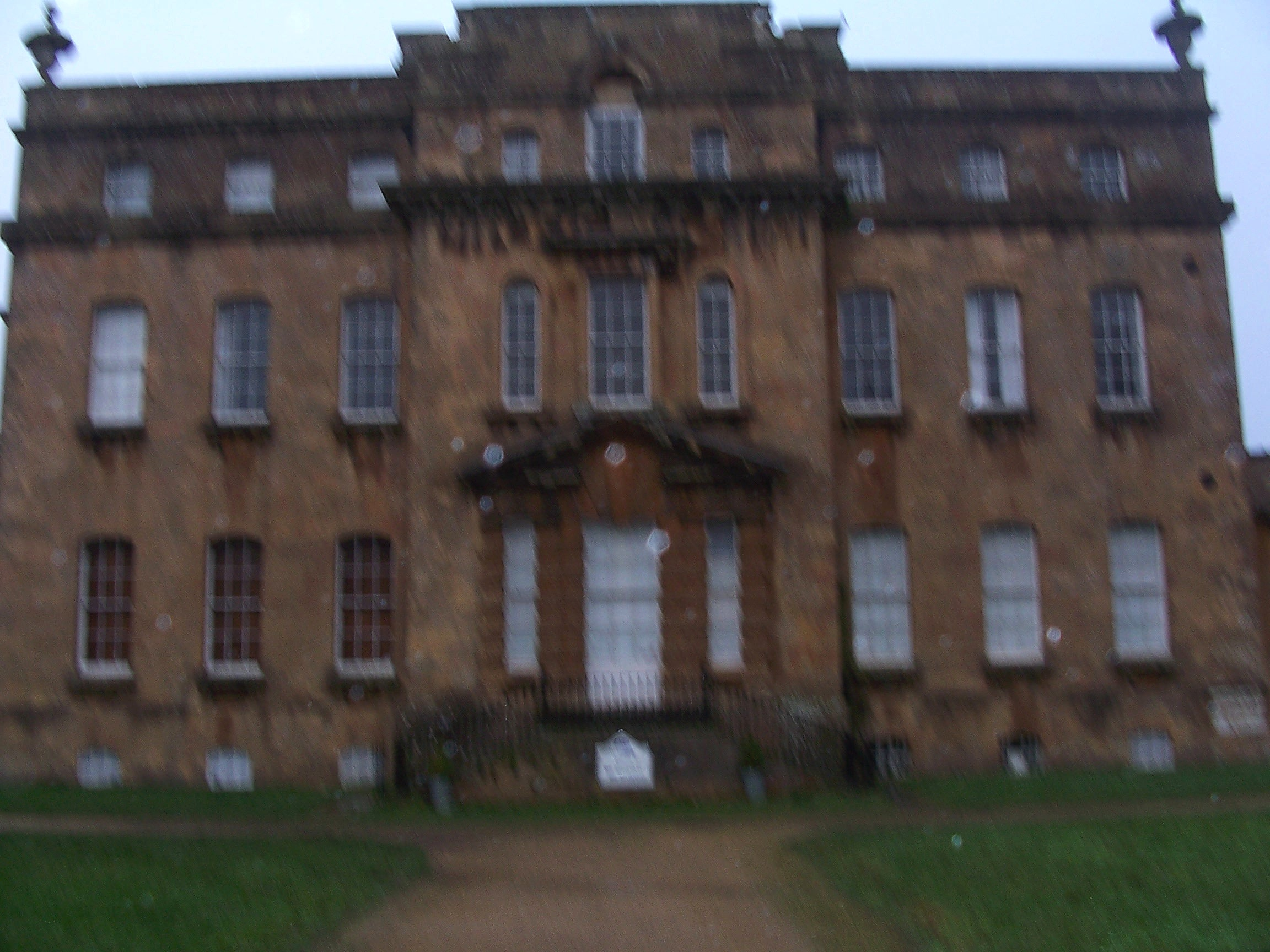 Before Restoration of King's Weston House