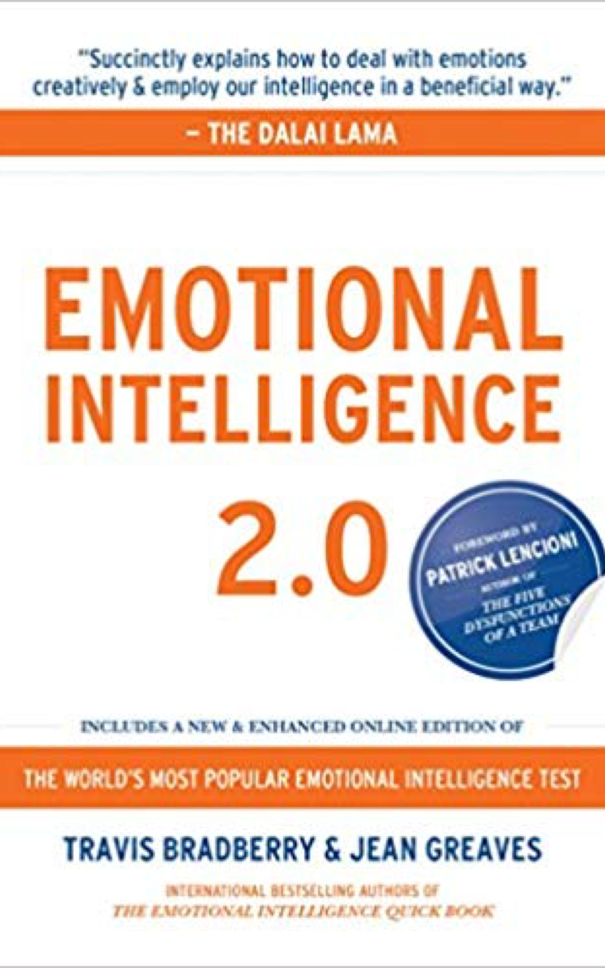 Emotional Intelligence 2.0 by Travis Bradberry & Jean Greaves