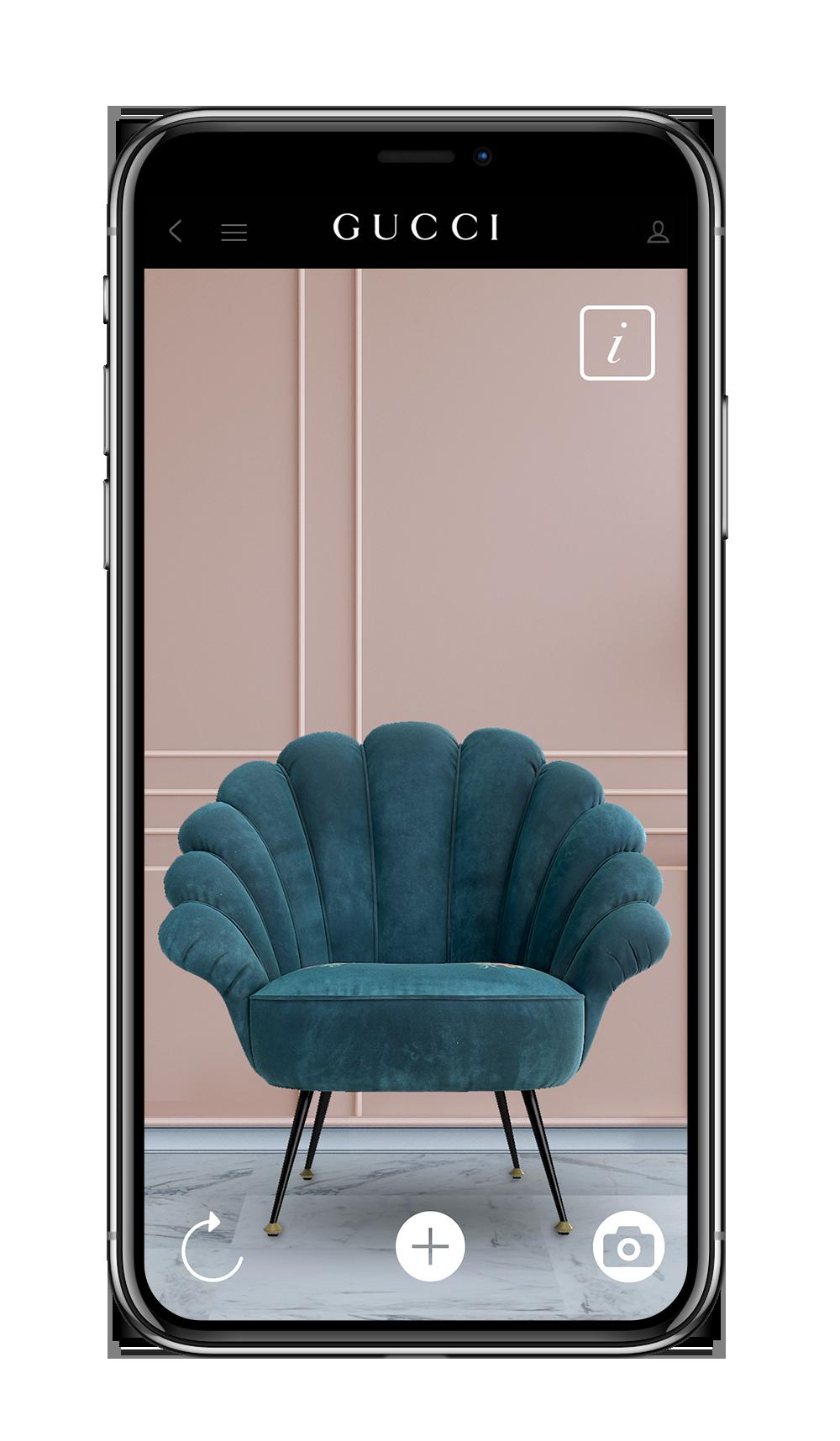 Gucci app: Gucci Decor