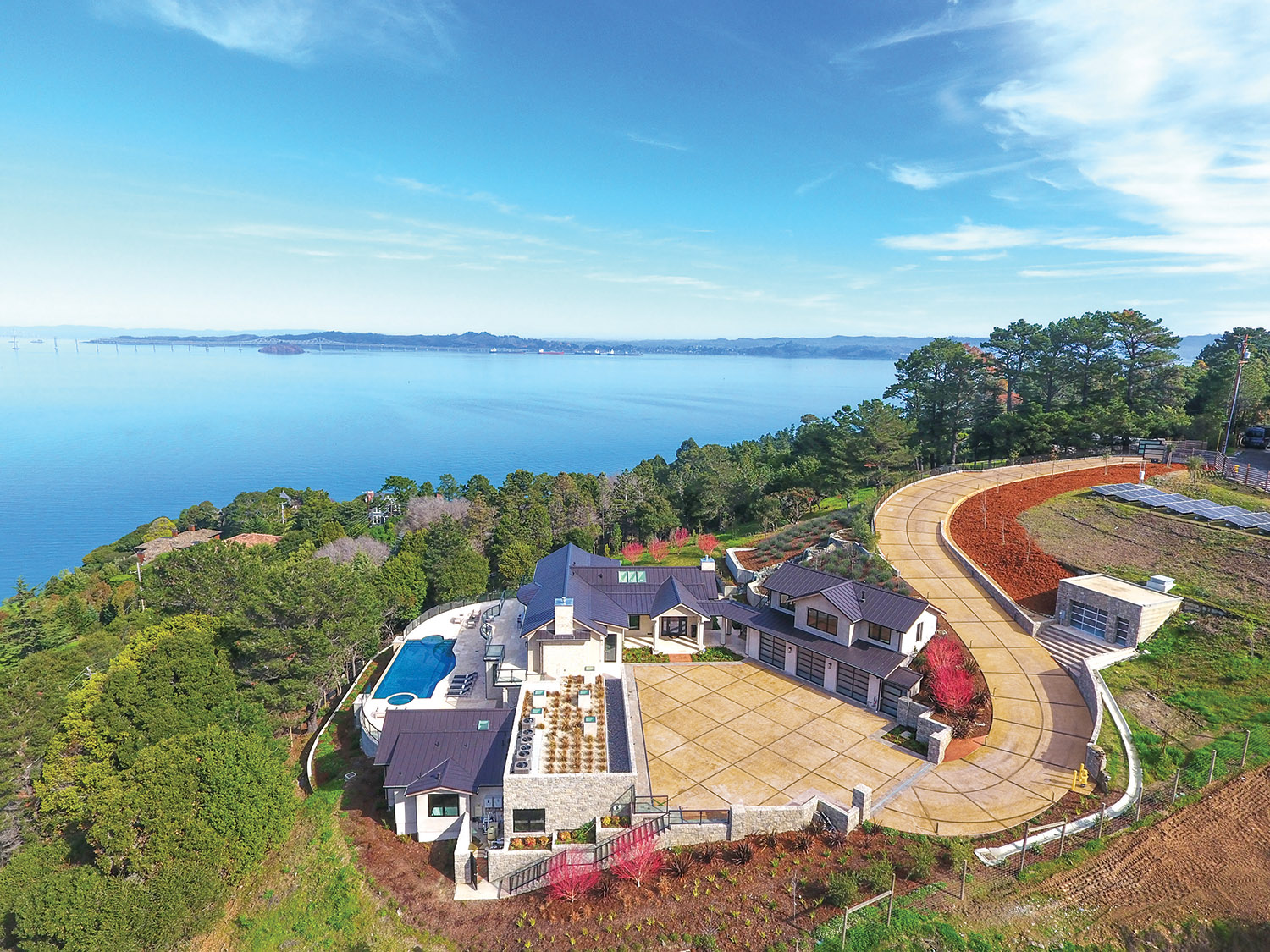 28 Teaberry Lane, Tiburon, CA, listed for $7,495,000
