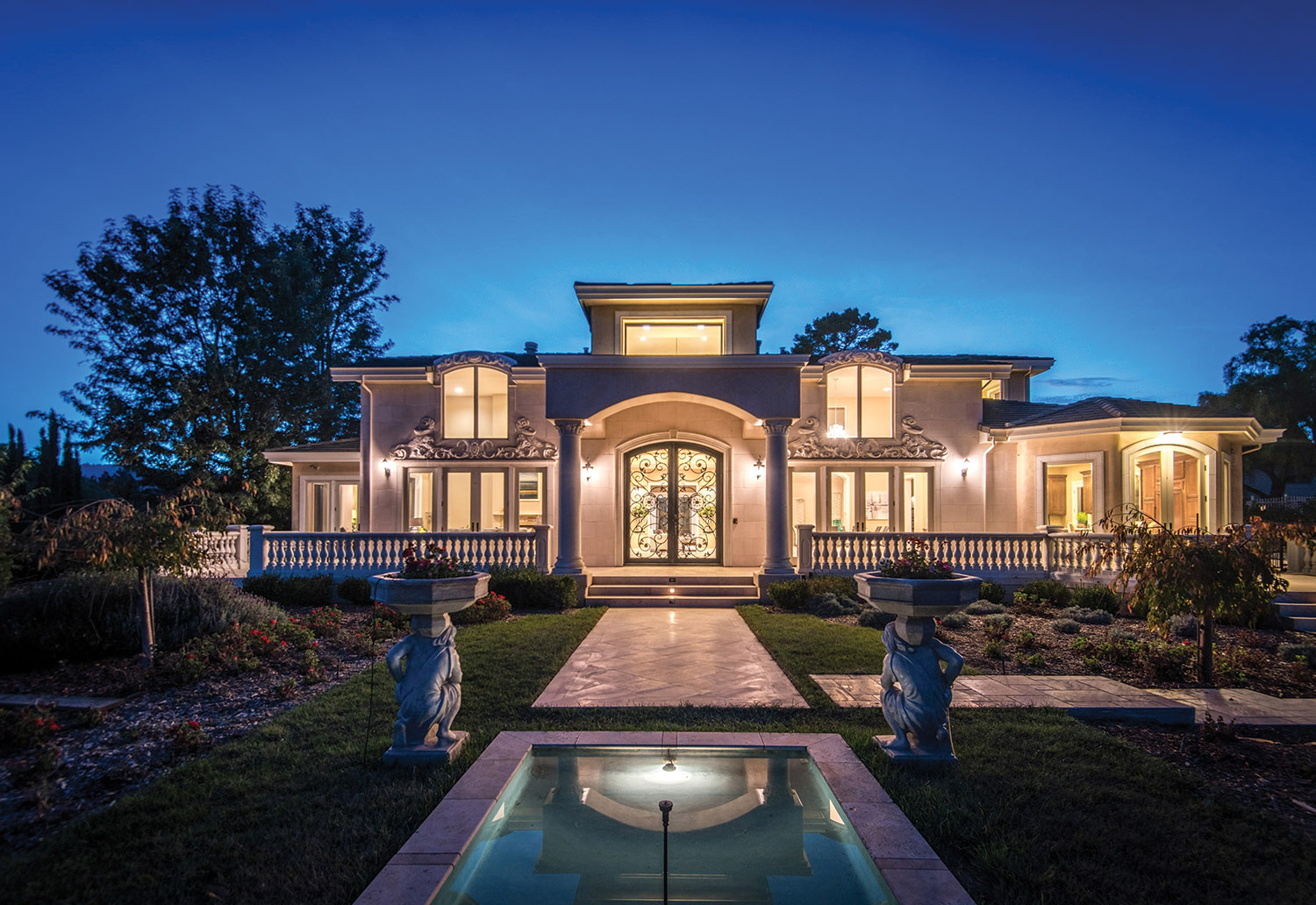 14329 Miranda Way , sale pending with The Campi Group, asking price $8,888,000