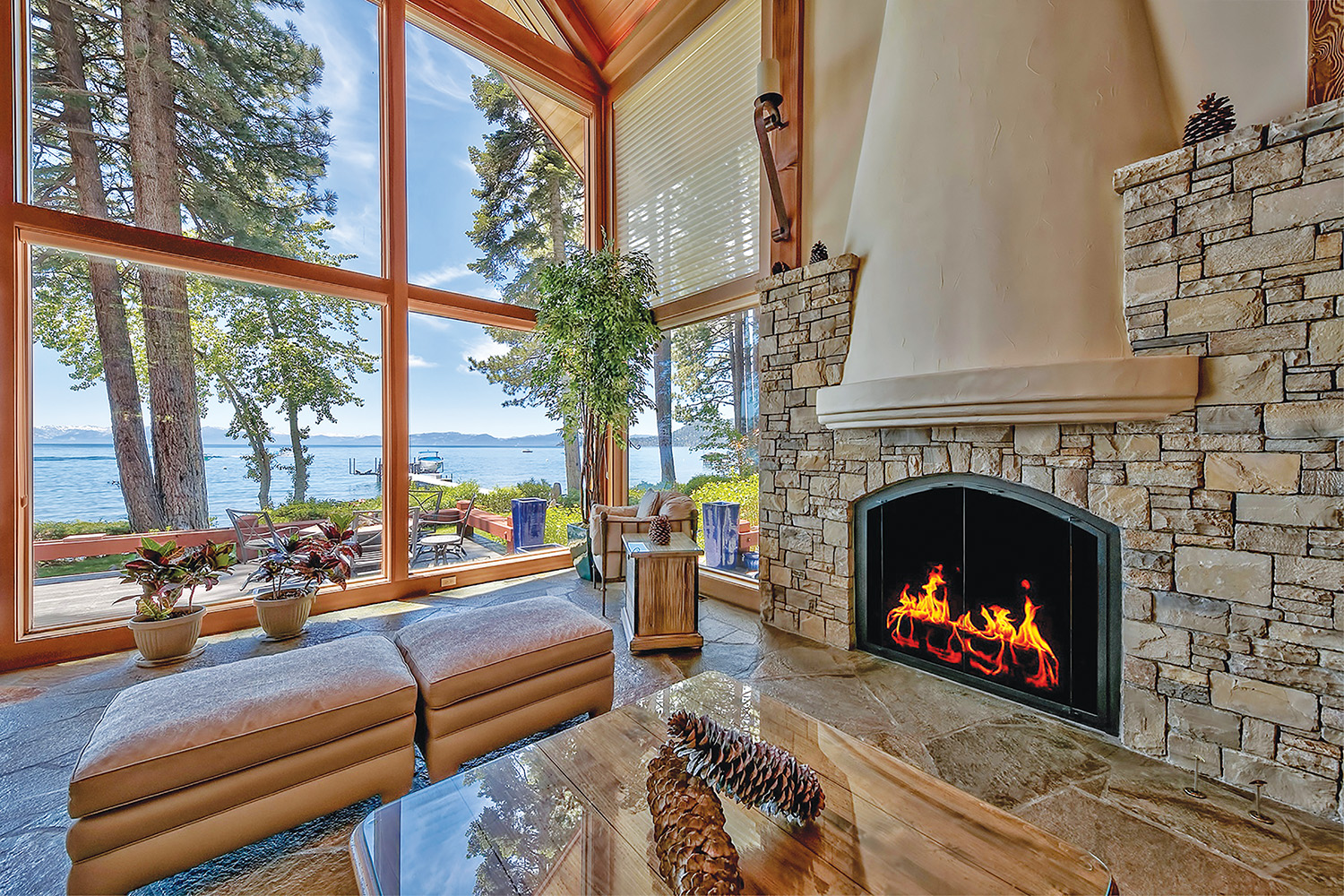 863 Lakeshore Blvd. Incline Village, NV, listed for $17,000,000