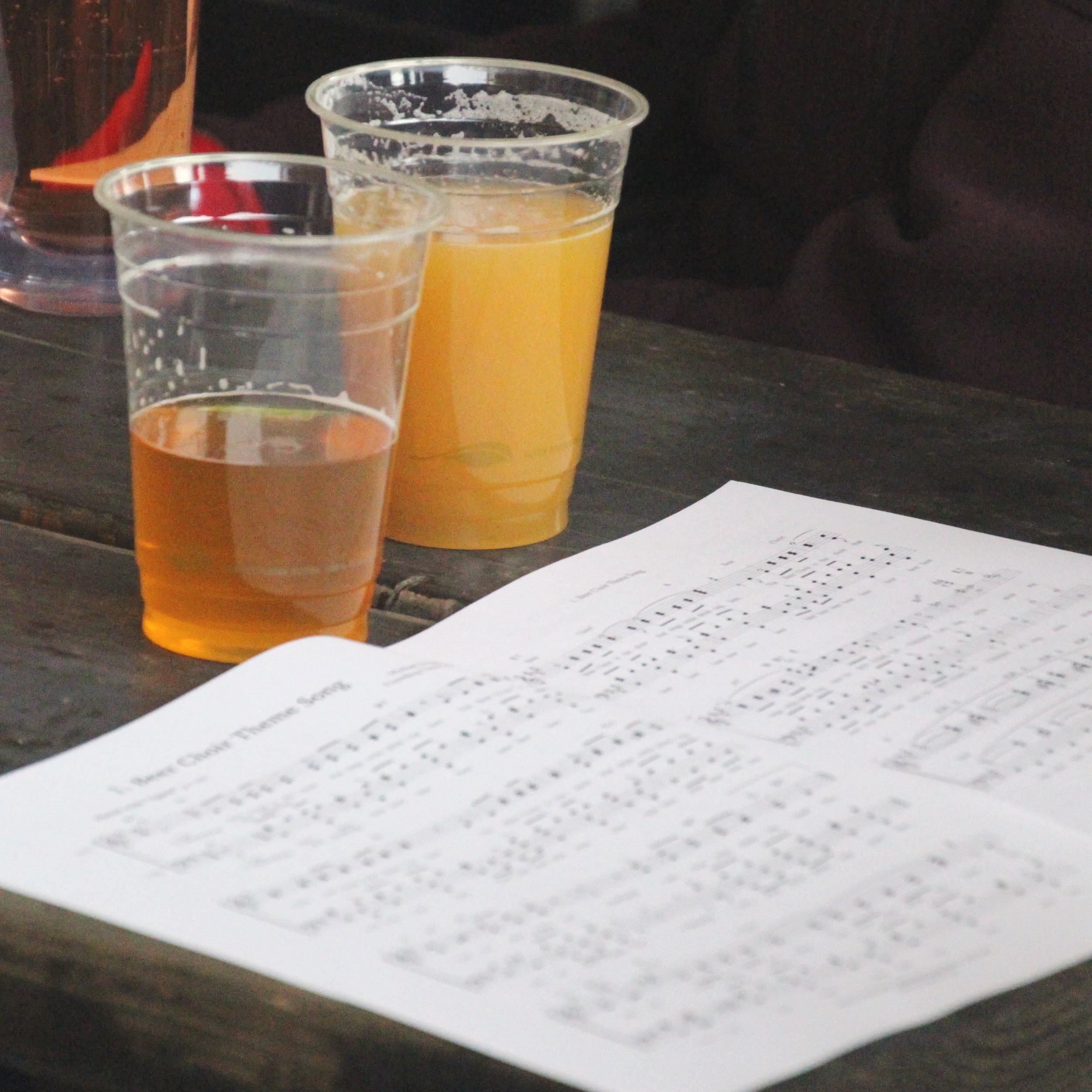hymnal - Download your copy of the Beer Choir Hymnal! (Volume 1 Edition 2)