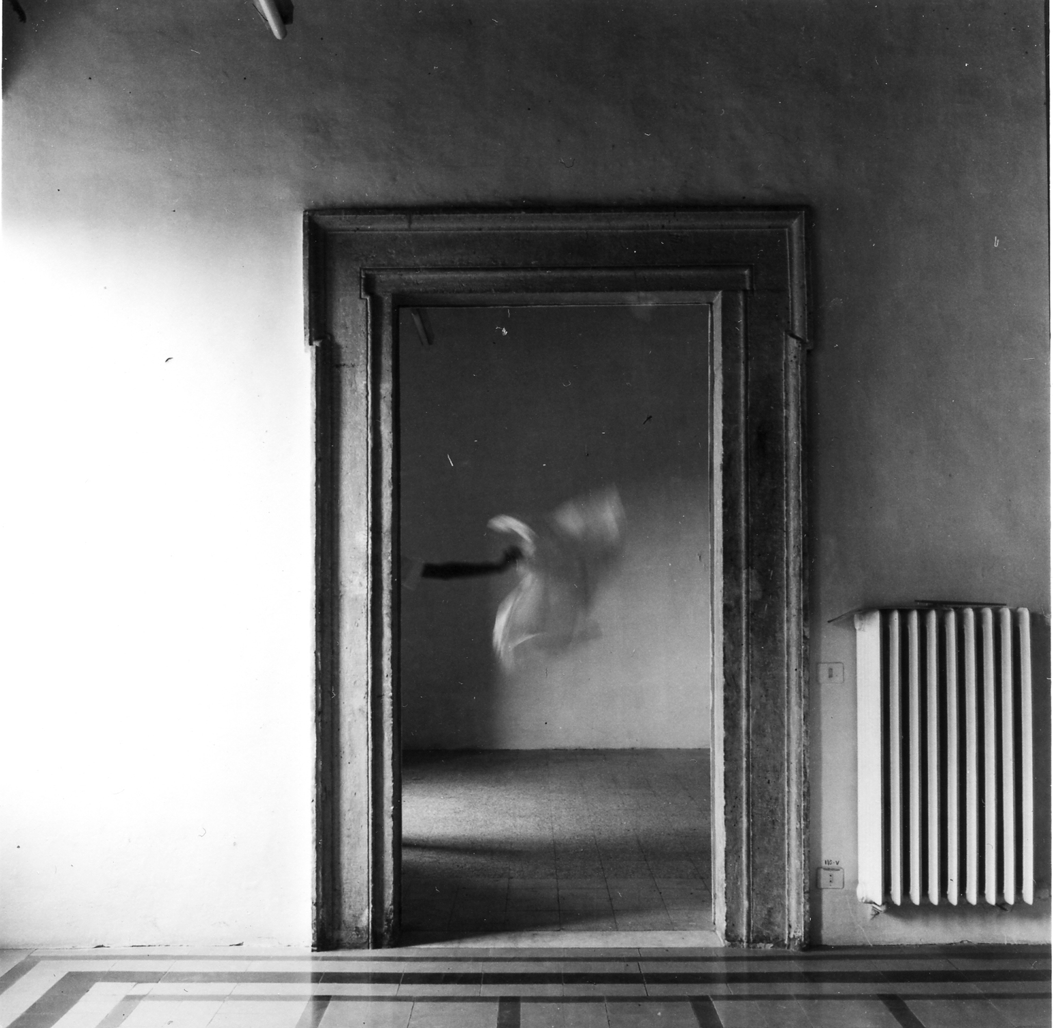 Francesca Woodman,  From Angel Series, Rome Italy, 1977, Louisiana Museum of Modern Art.