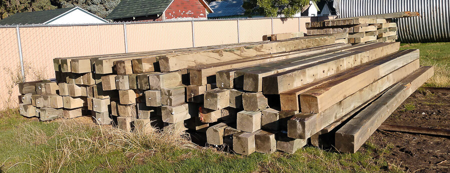 Assorted Bridge Timbers