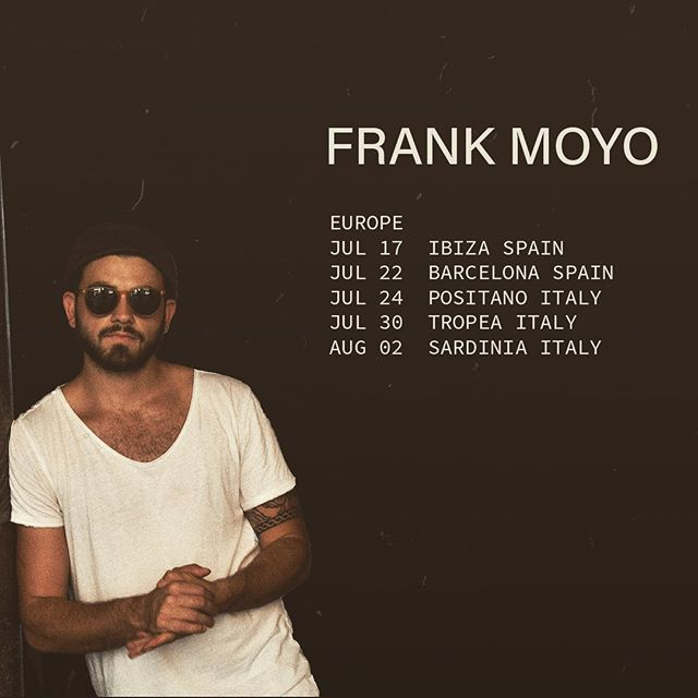 Italia e Spagna I'm coming for ya.  Small acoustic beach tour in the next coming weeks. If you would like to be apart of this tour and give a helping hand, go fund me link is in the BIO. Love you all. . . . . . . . . #livemusic #acoustic #europe #spain #italy #beachtour #spanish #italian #estate #summer2019