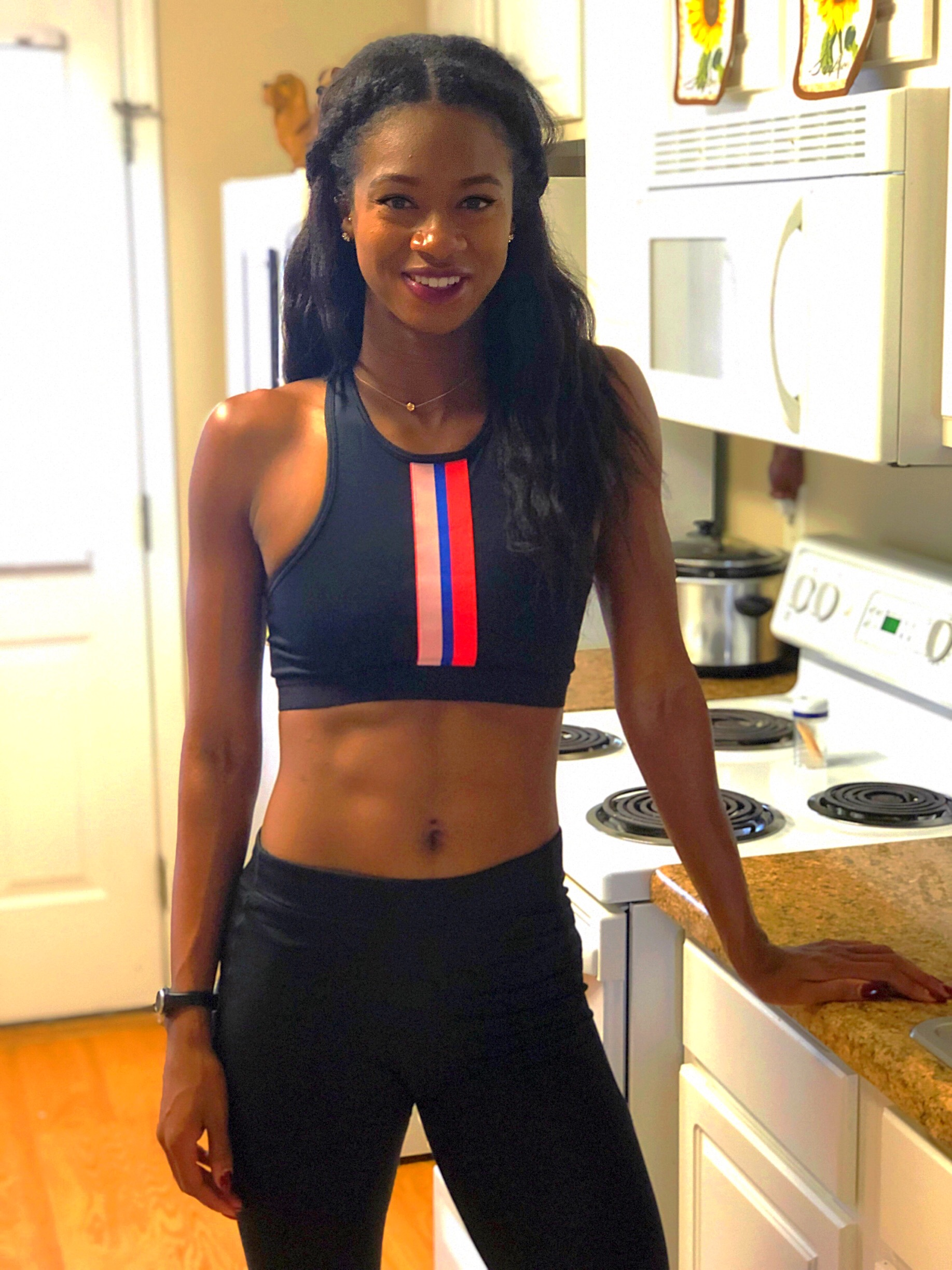 Hi! My name is Jasmin. - As a nutritionist and professional athlete, I know what it takes to make quick changes to your body to reach a goal.I earned my B.S in Food & Nutrition Science from Louisiana State University (LSU) in 2014 and since then I have been using nutrition to help others reach their goal.I have always been interested in living a healthy lifestyle. However, it wasn't until after I became a professional track athlete that I realized the importance of it. Within a year of changing my eating habits, I started to see a transformation in my body, performance, and how I felt.That same year, Â I ended up running one of the fastest times in history---making me the 9th fastest 100 meter hurdler of all time. Nevertheless, I contribute a lot of my success in the sport to refueling and providng my body with clean and healthy food.I have been at the end of both weight spectrums. I have been told I was too skinny, but I also have been told I needed to lose weight. I know what it feels like to be uncomfortable with my body. You are not alone!Everyone is different and that is what makes each one of us special. My nutrition and fitness programs are designed to help YOU feel great in your body.By the time you finish my program, you would have shredded those extra pounds and gained new clarity on your life!Schedule a free 30 minute phone call with me to start you on this journeyBook a free consultation with me