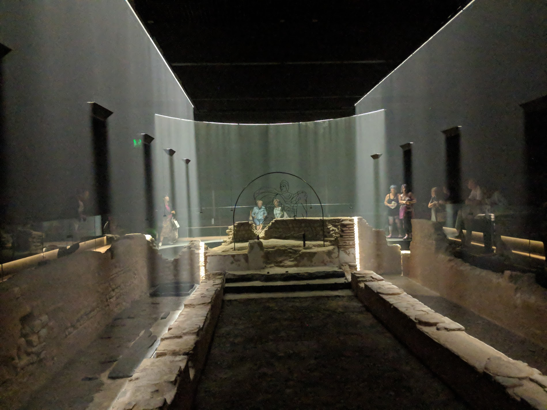 The London Mithraeum is an immersive recreation of a mysterious temple ritual from ancient Rome. [Content development]